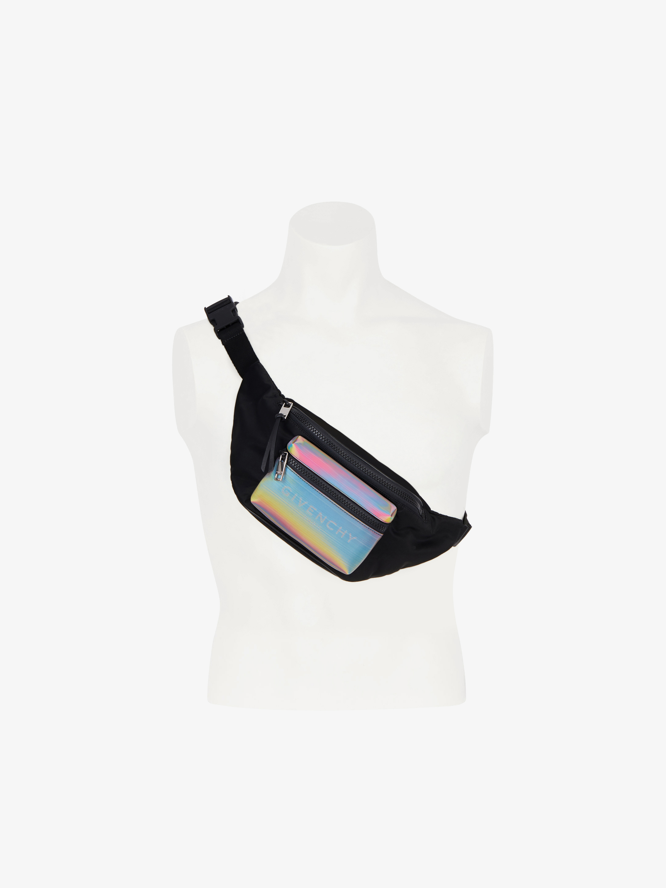 Sac ceinture Light 3 à poche holographique