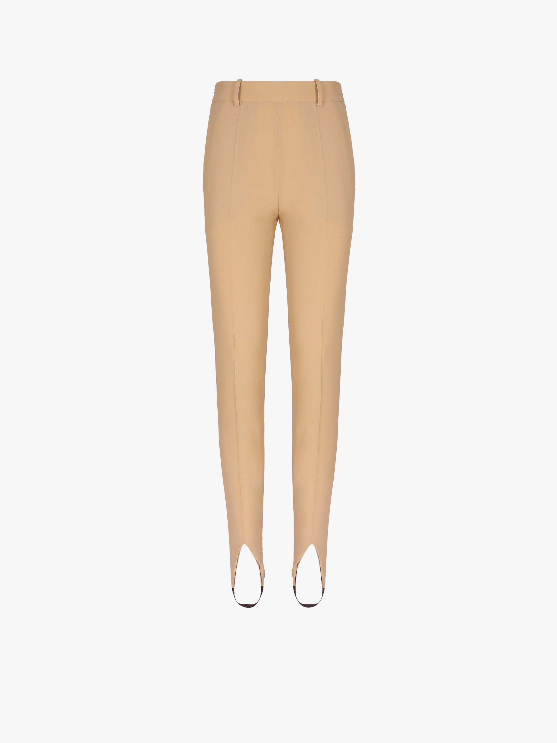 Stirrup pants in wool