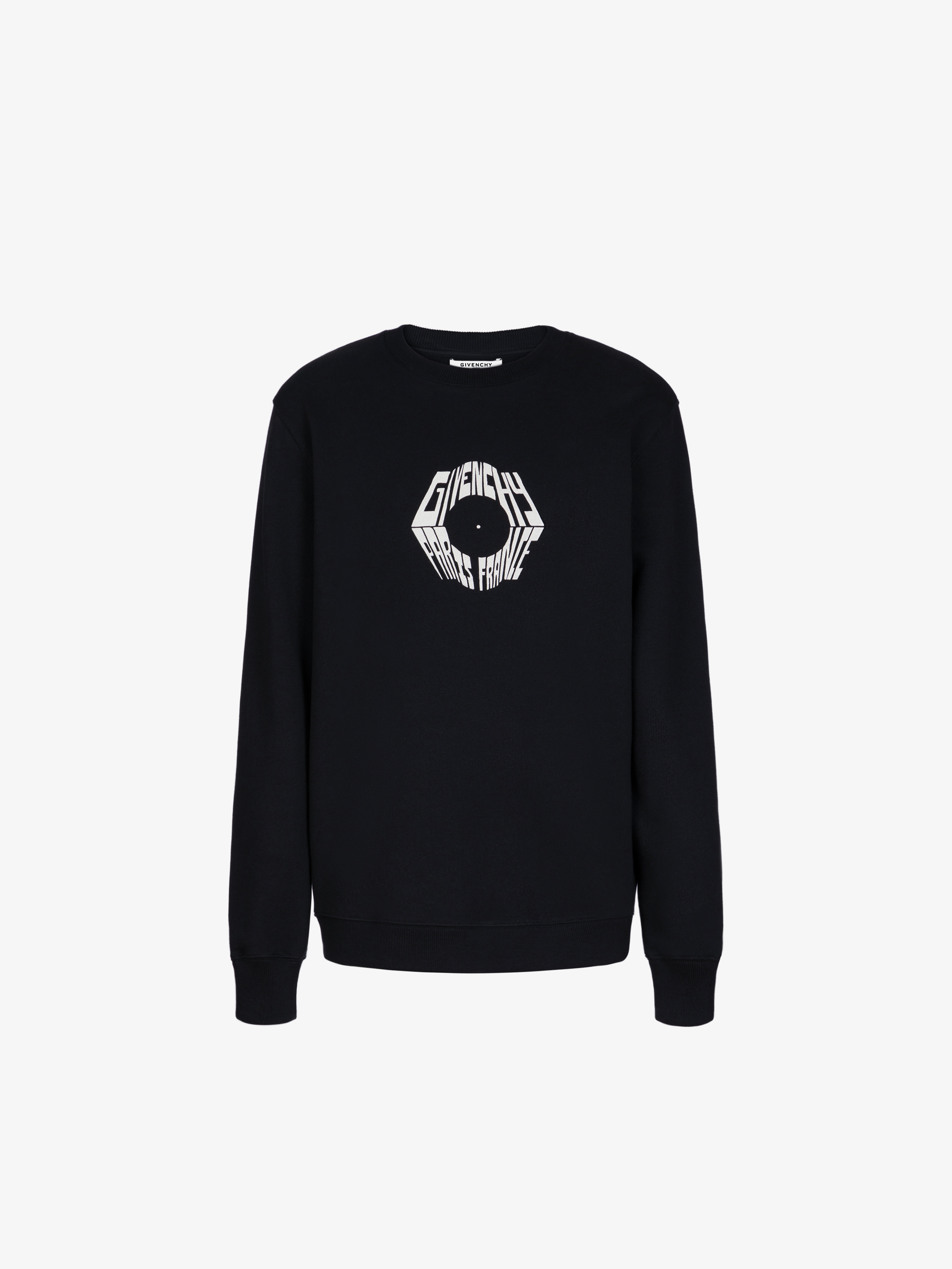 Givenchy Paris Eagle printed Slim fit sweatshirt