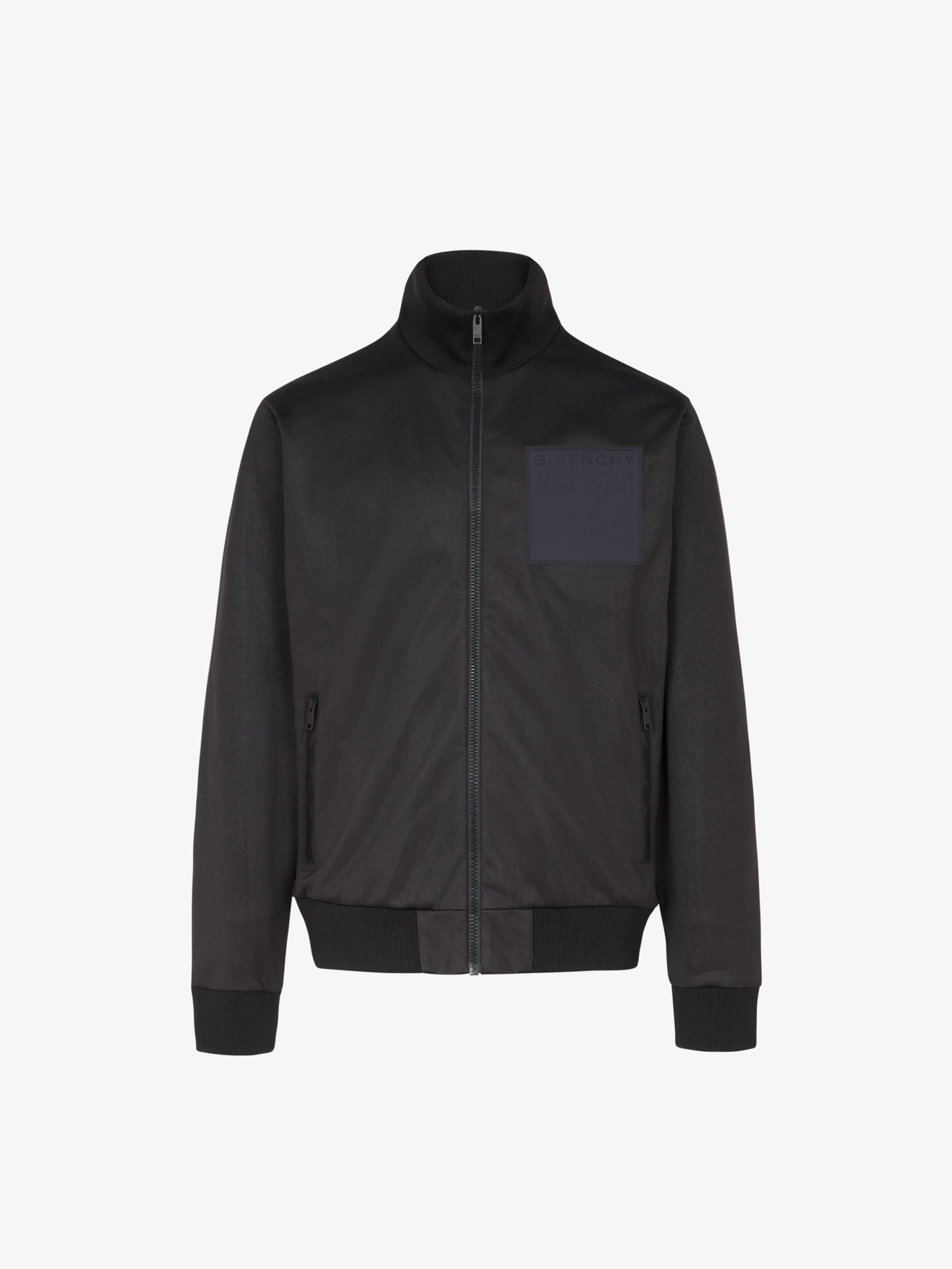 GIVENCHY ADDRESS patch sport jacket