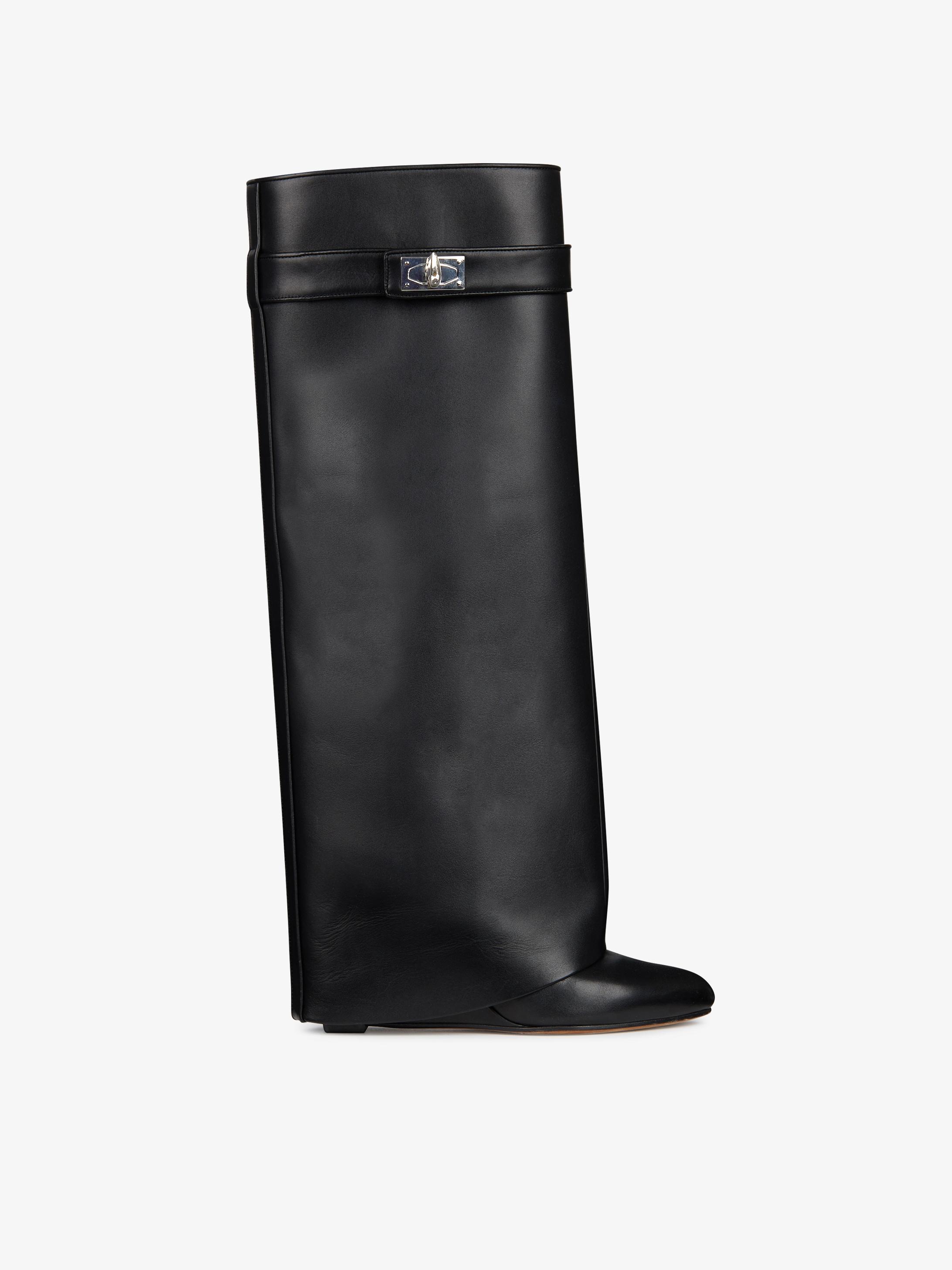 Shark Lock high boots