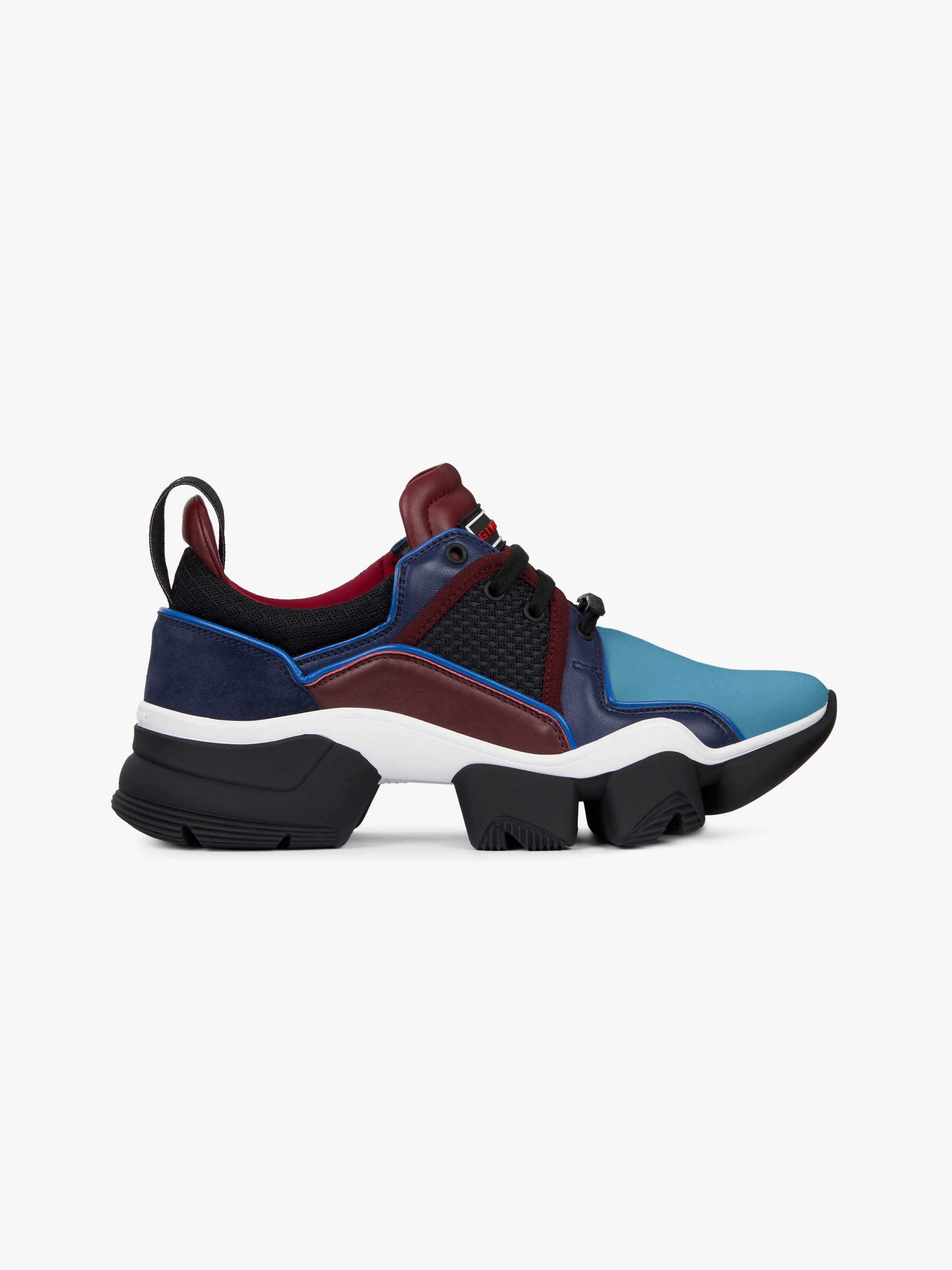JAW low sneakers in neoprene and leather
