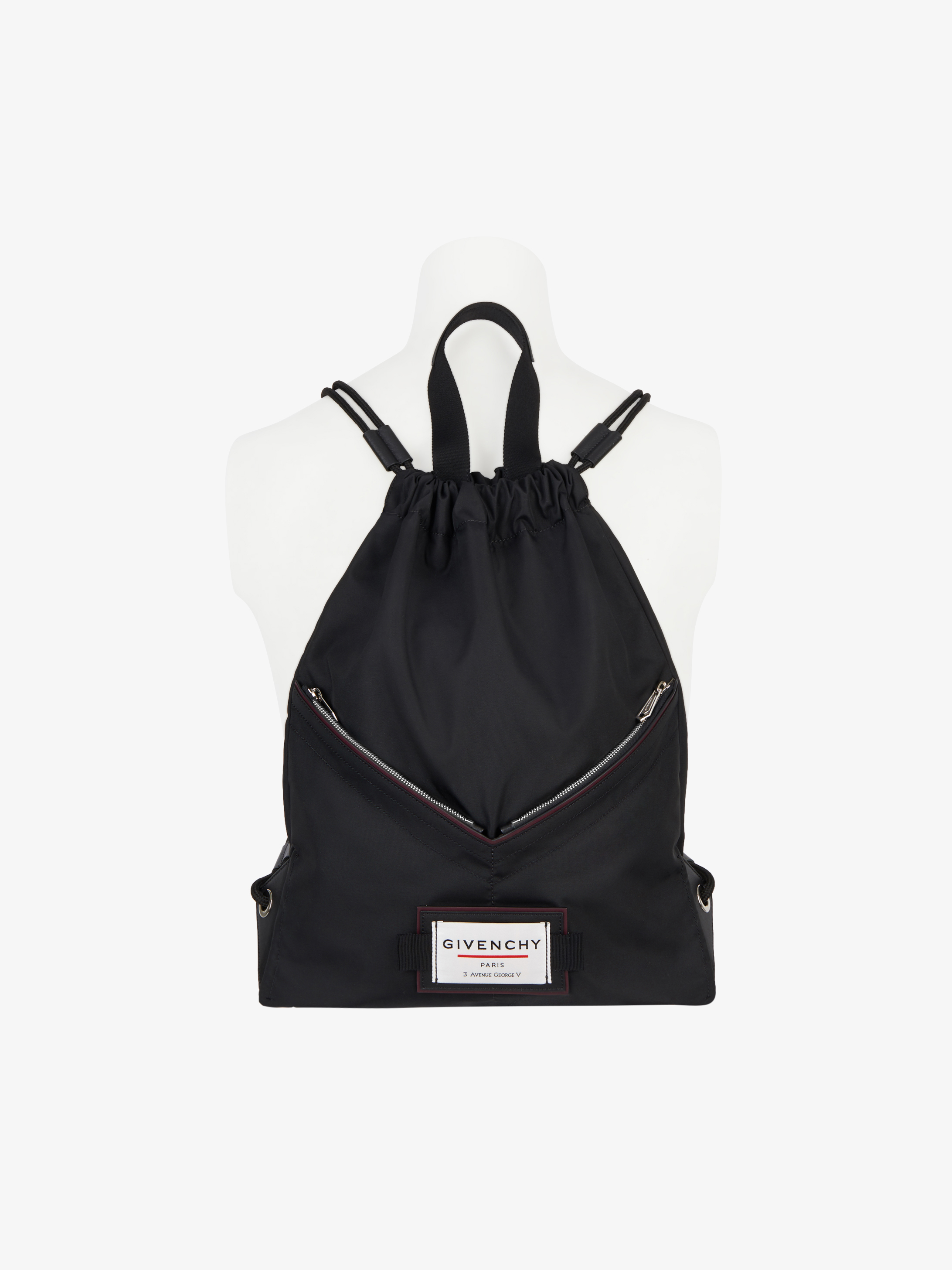 GIVENCHY DOWNTOWN drawstring in nylon