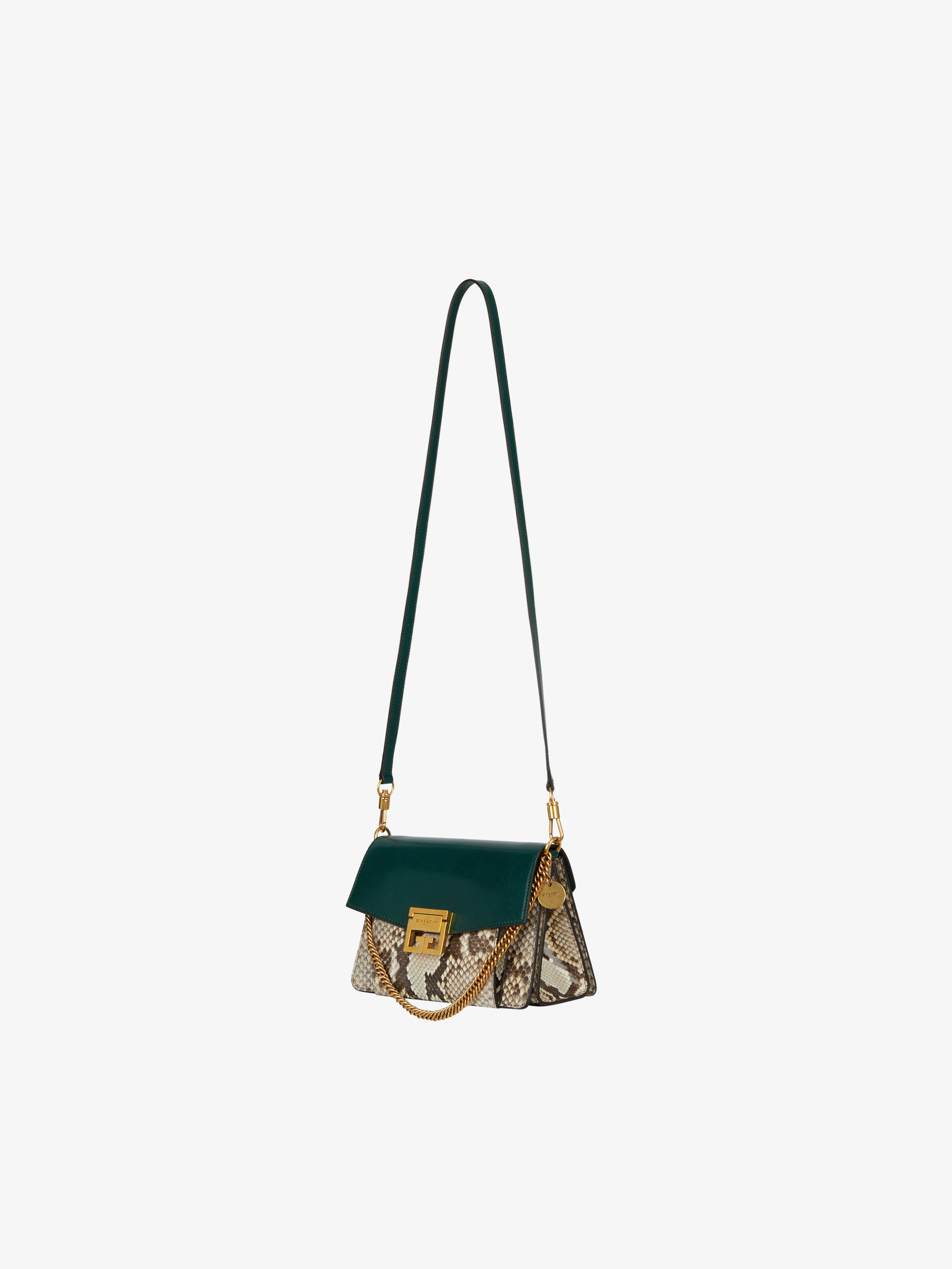 d1e5862a3b8f Small GV3 in leather and python