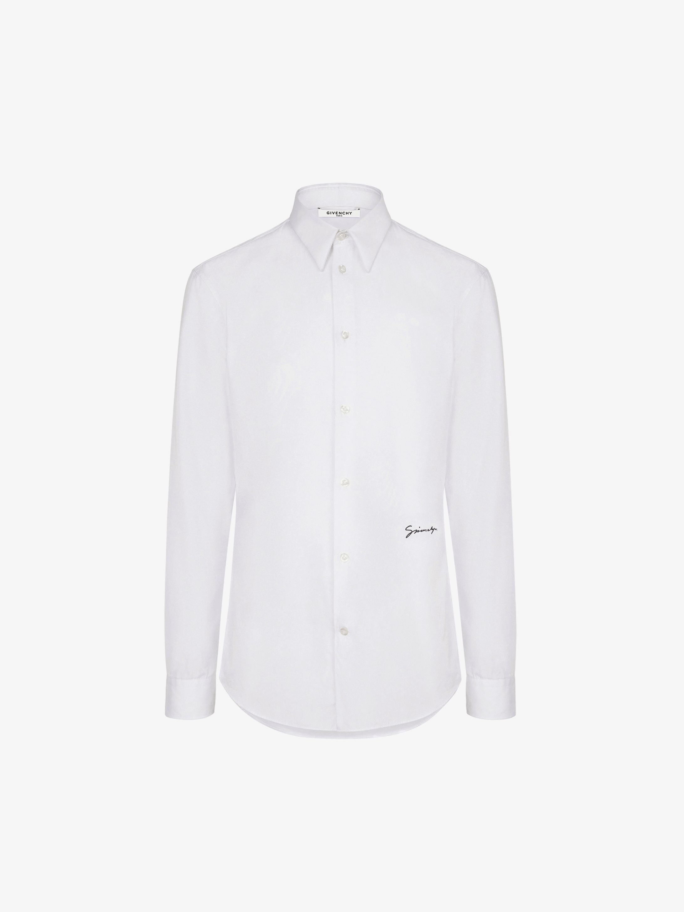 Givenchy embroidered shirt in cotton