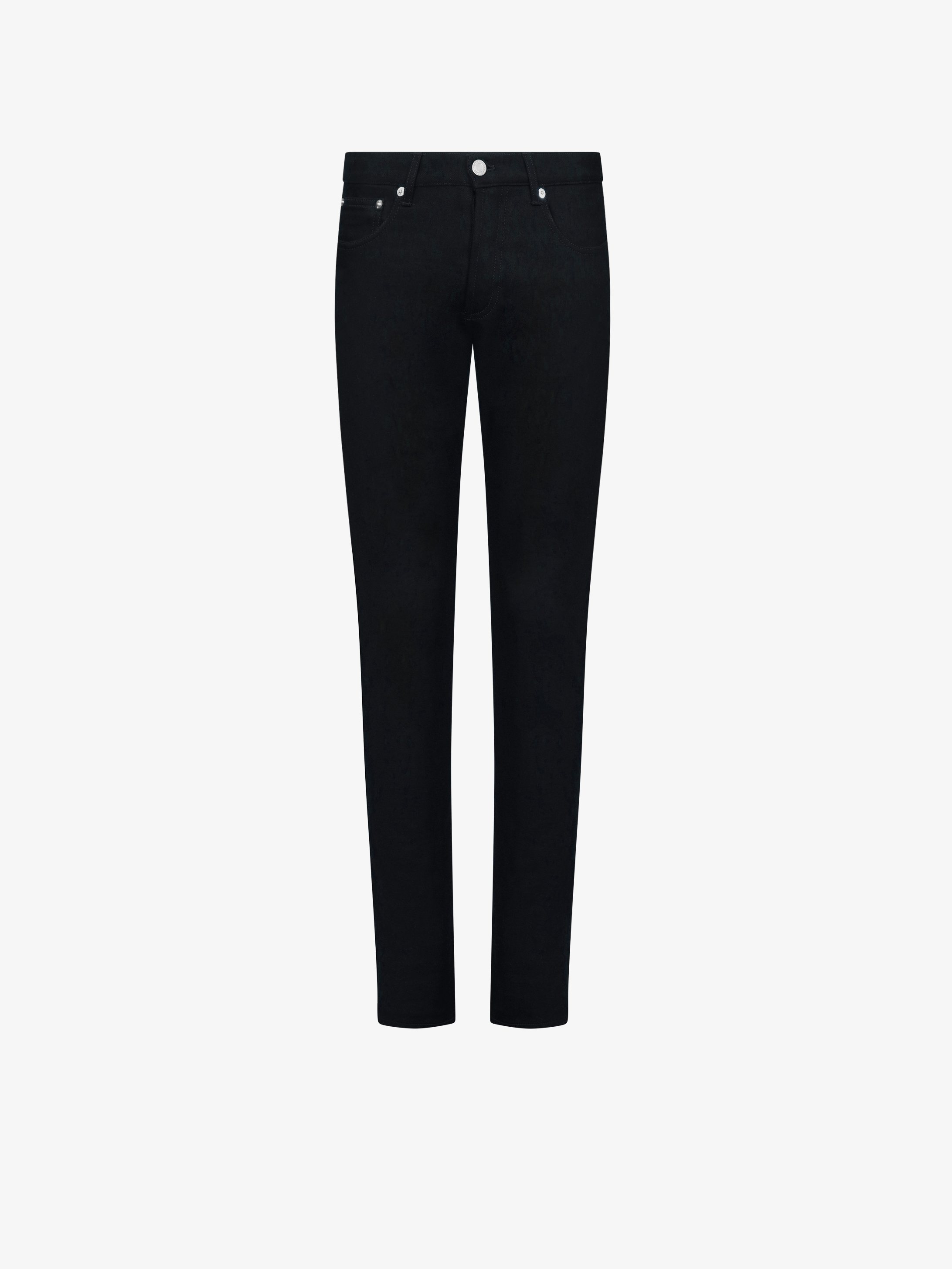 Extra slim fit jeans with stars