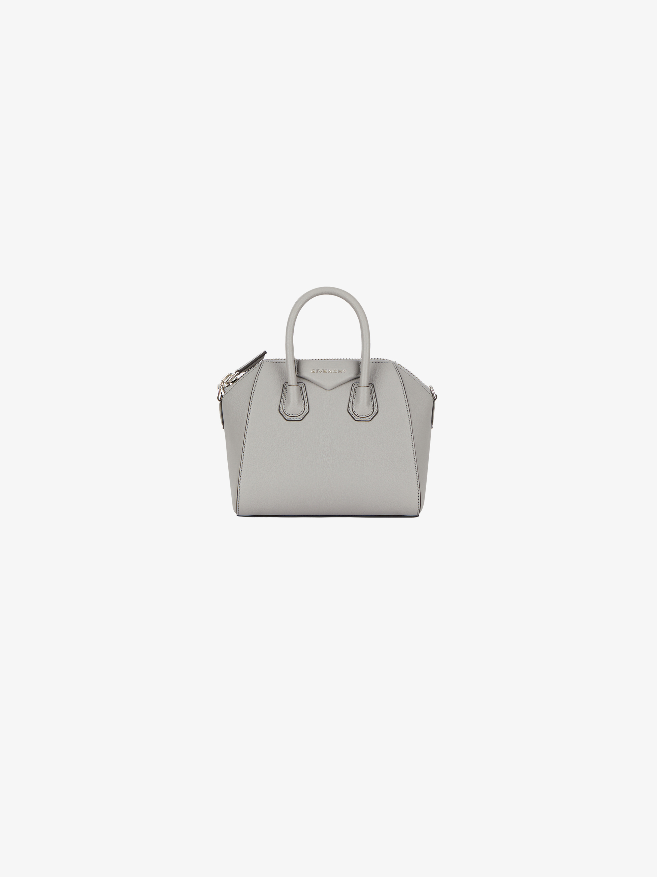 Mini Antigona bag in grained leather