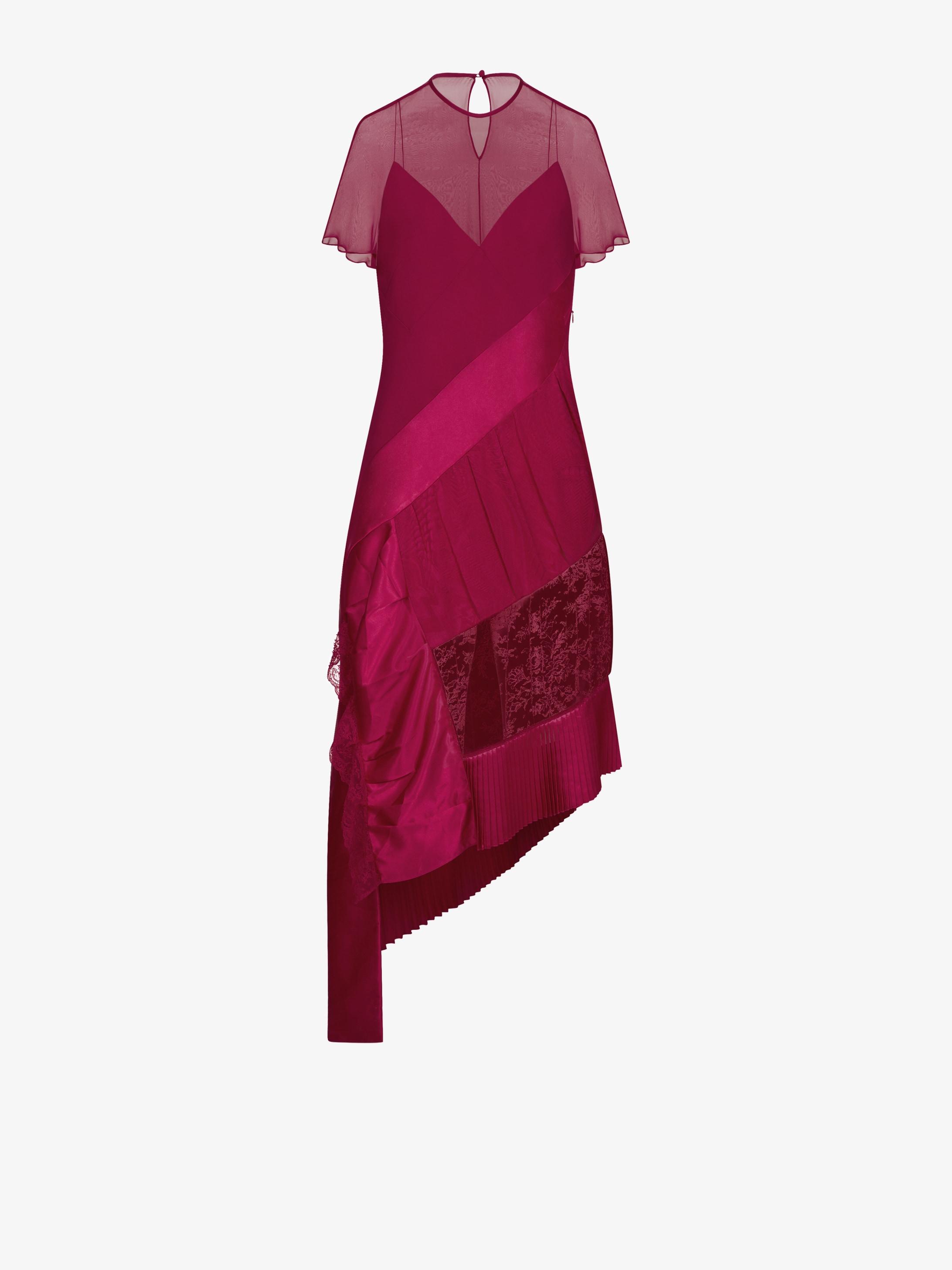 Asymmetric patchwork dress Givenchy lNNTY8Rhg