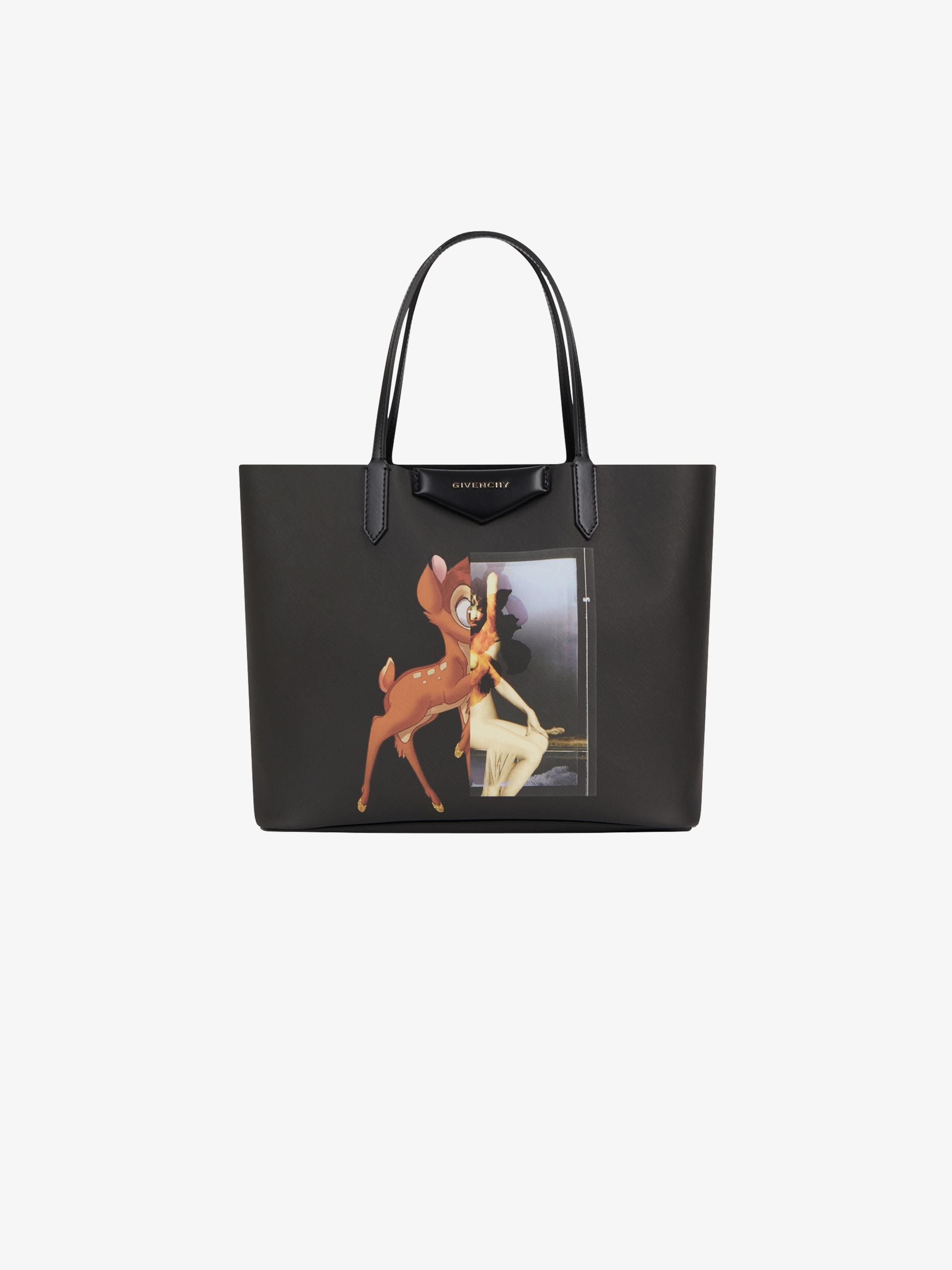 Bambi Printed Medium Antigona Ping Bag