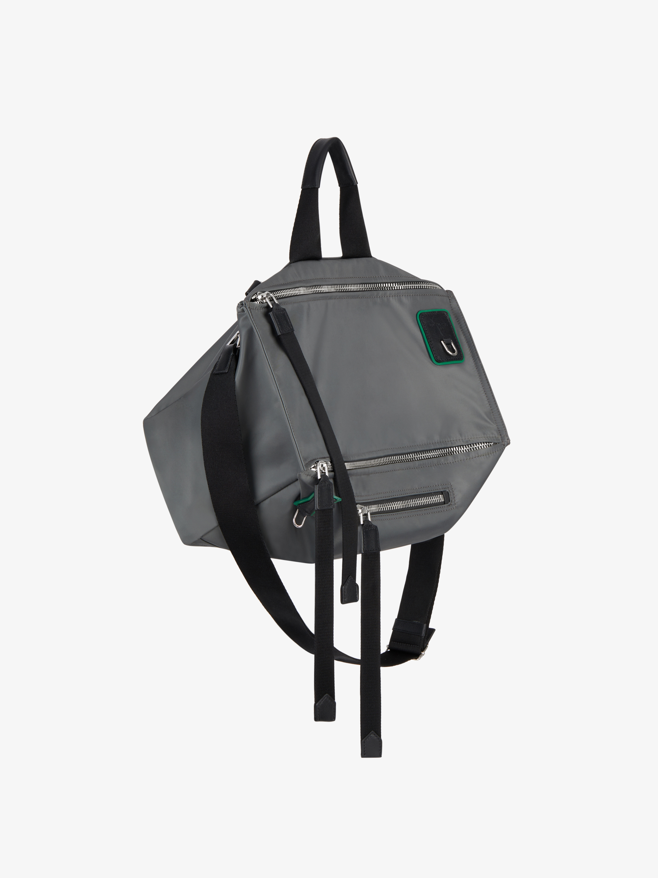 Pandora messenger bag in nylon with contrasted details