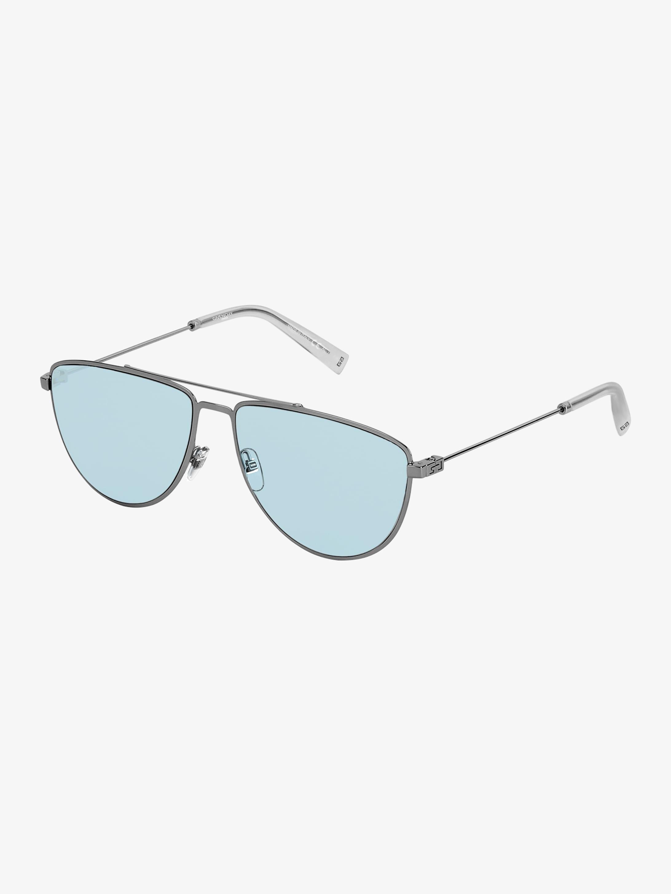 GV Cut sunglasses in metal