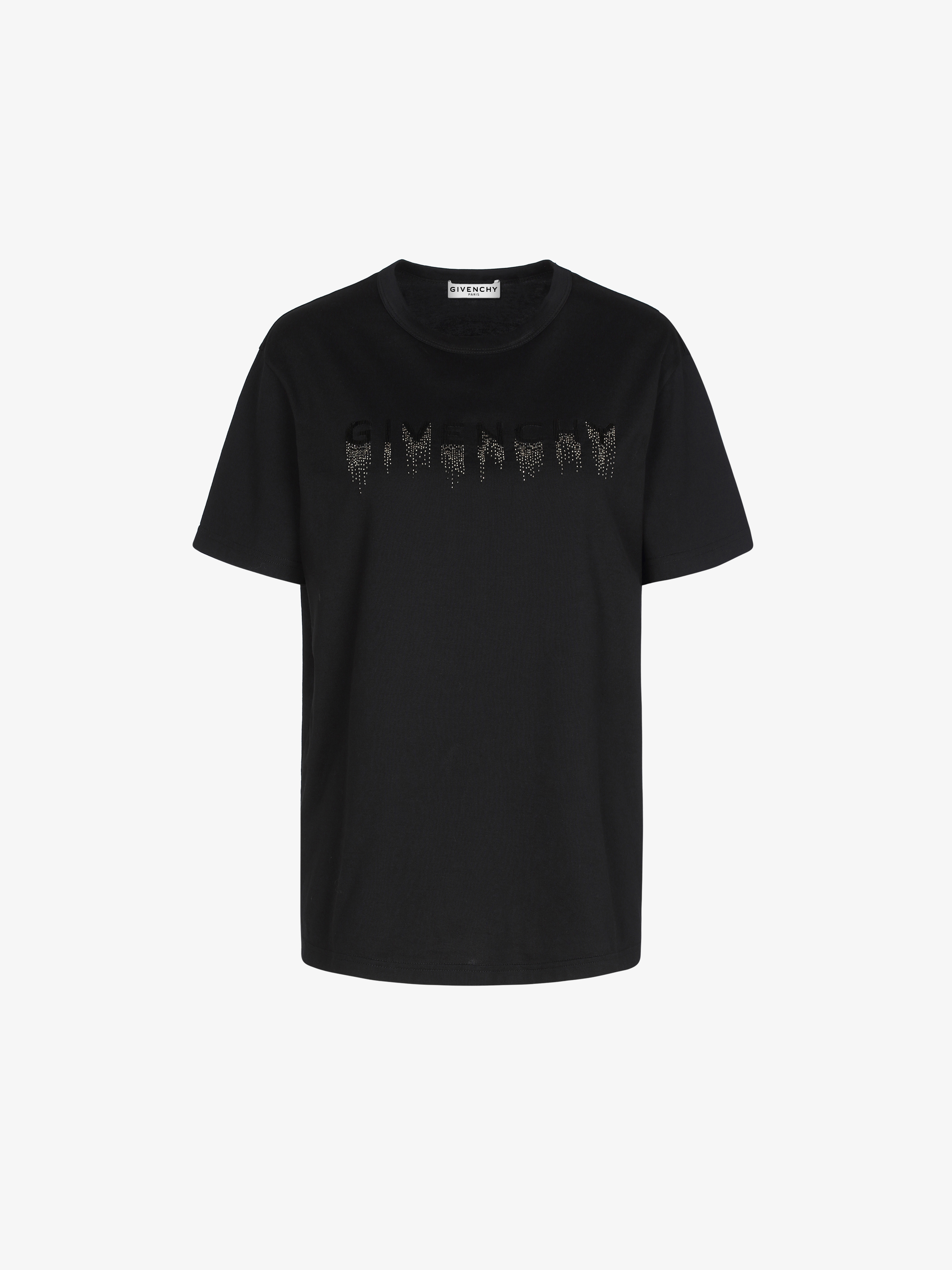GIVENCHY faded embroidered t-shirt