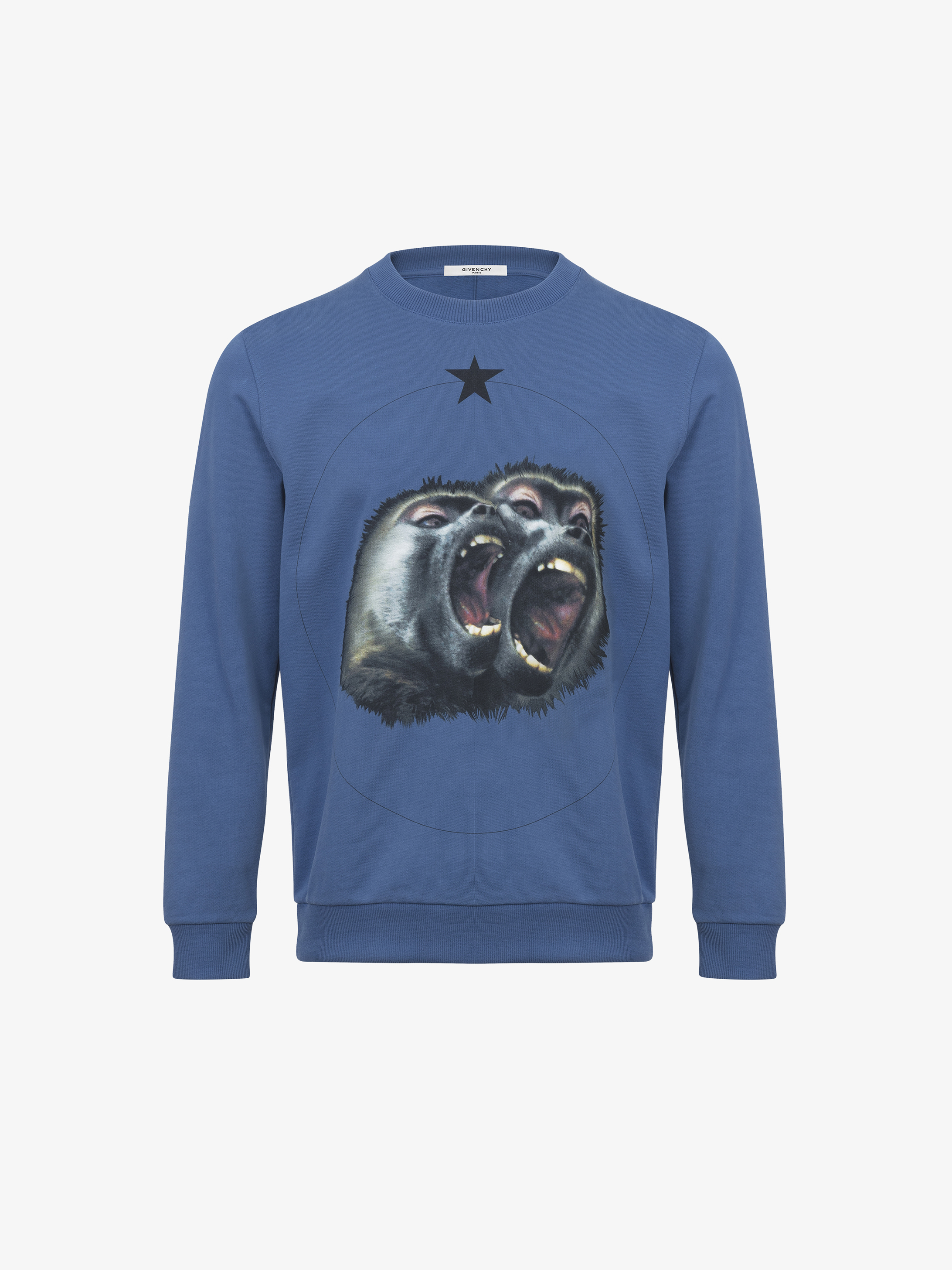 Sweatshirt imprimé Monkey Brothers