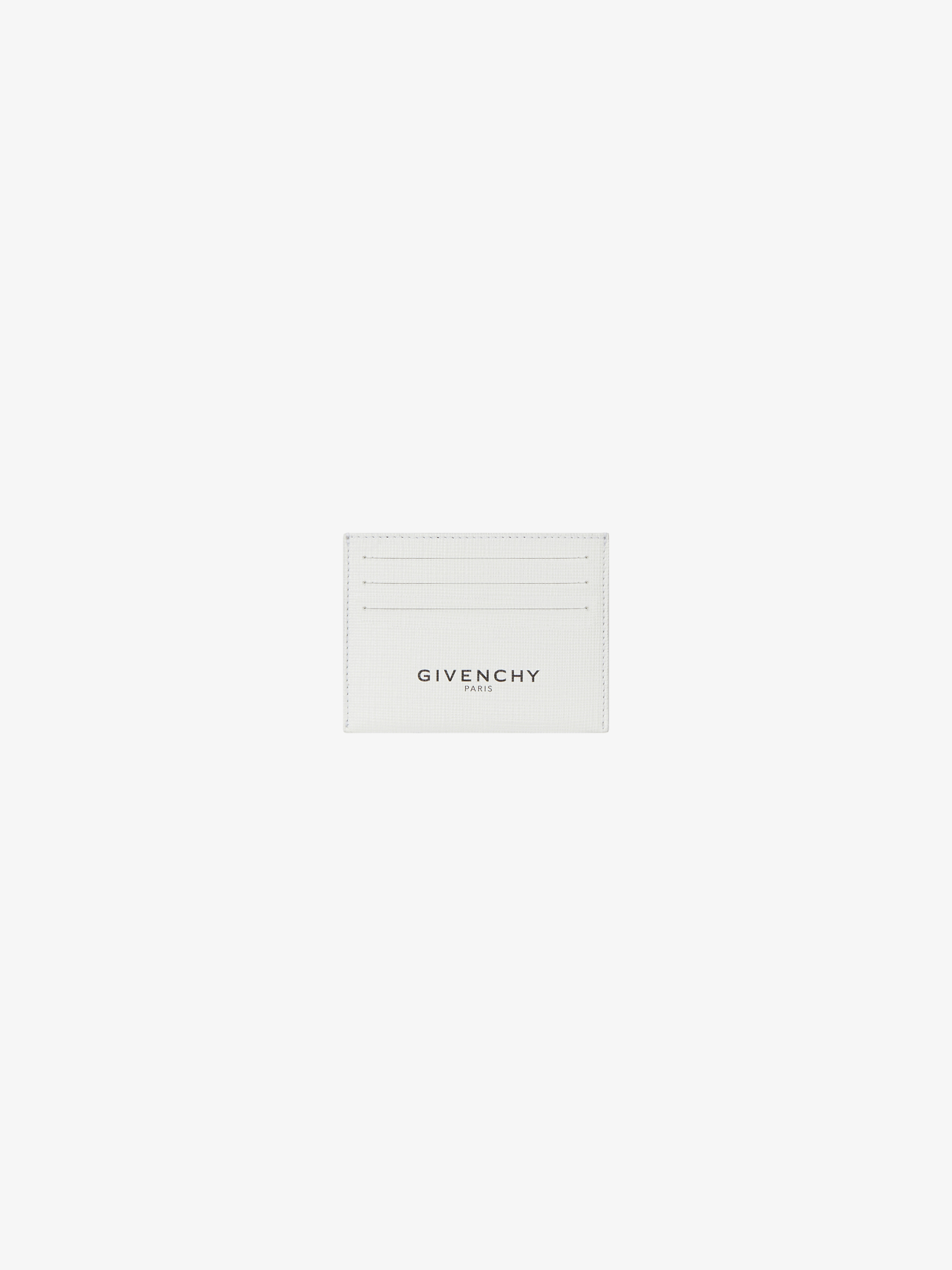 GIVENCHY PARIS glow in the dark card holder