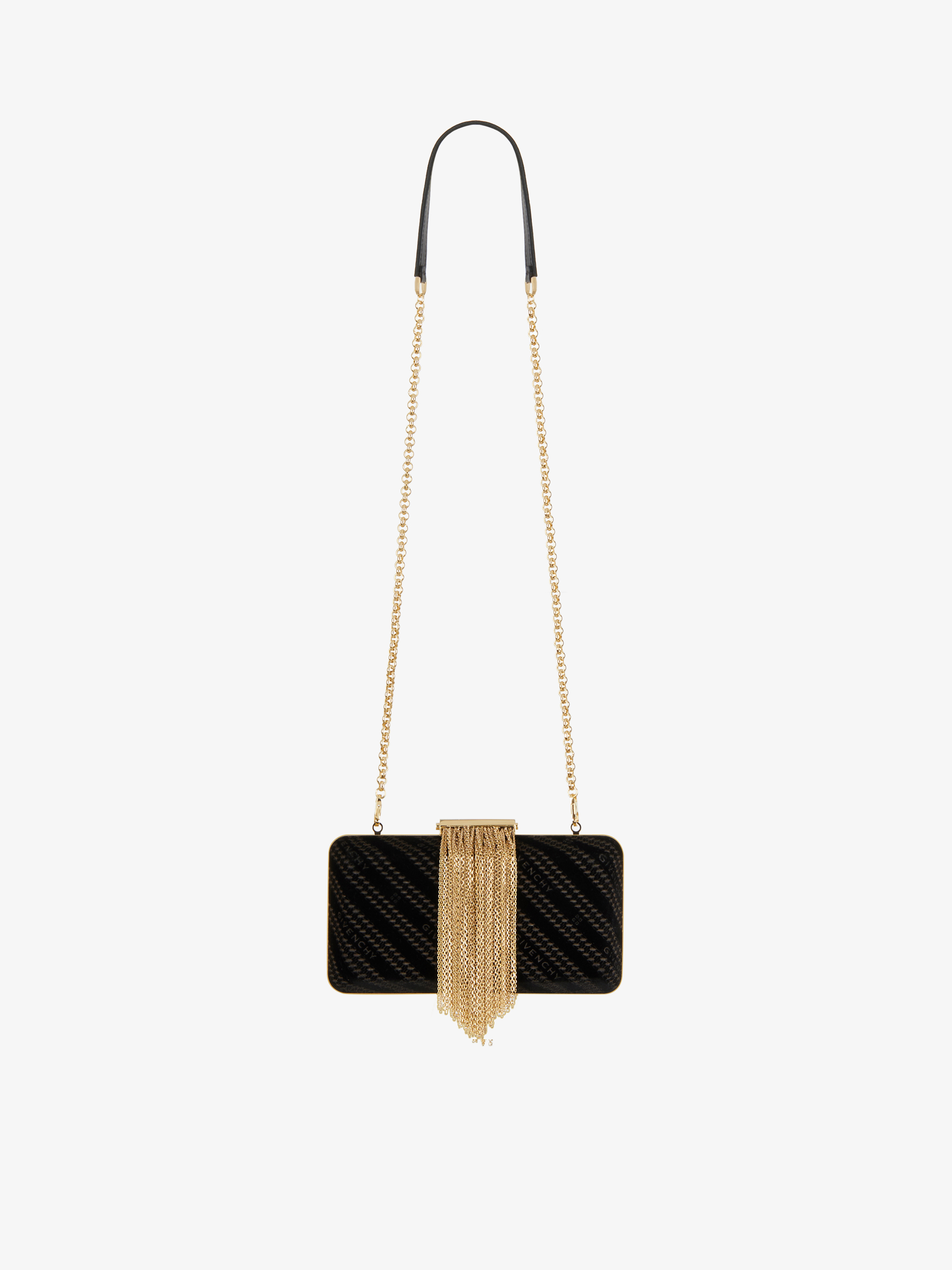 Minaudiere in velvet GIVENCHY chain with fringes