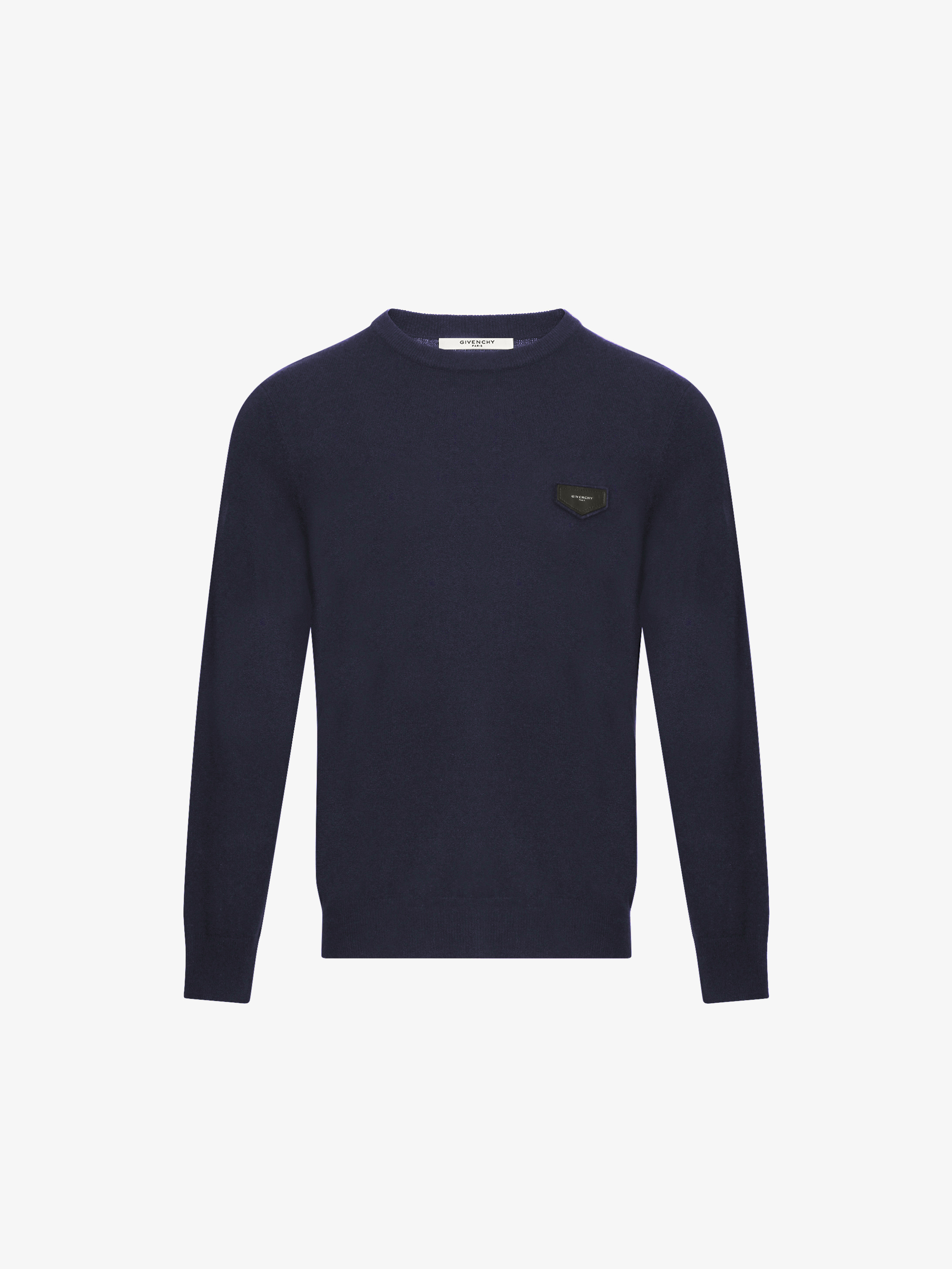 GIVENCHY patch cashmere jumper