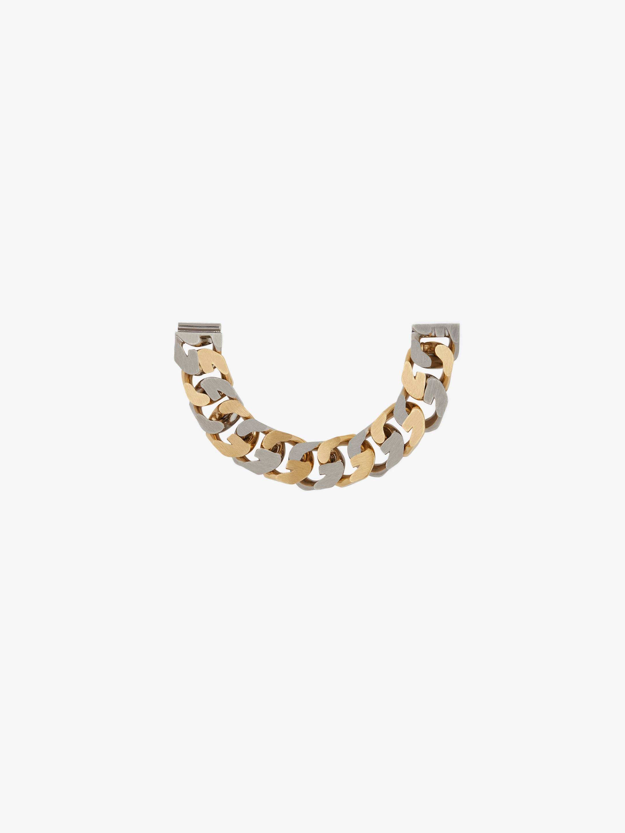 Bracciale G Chain bicolore