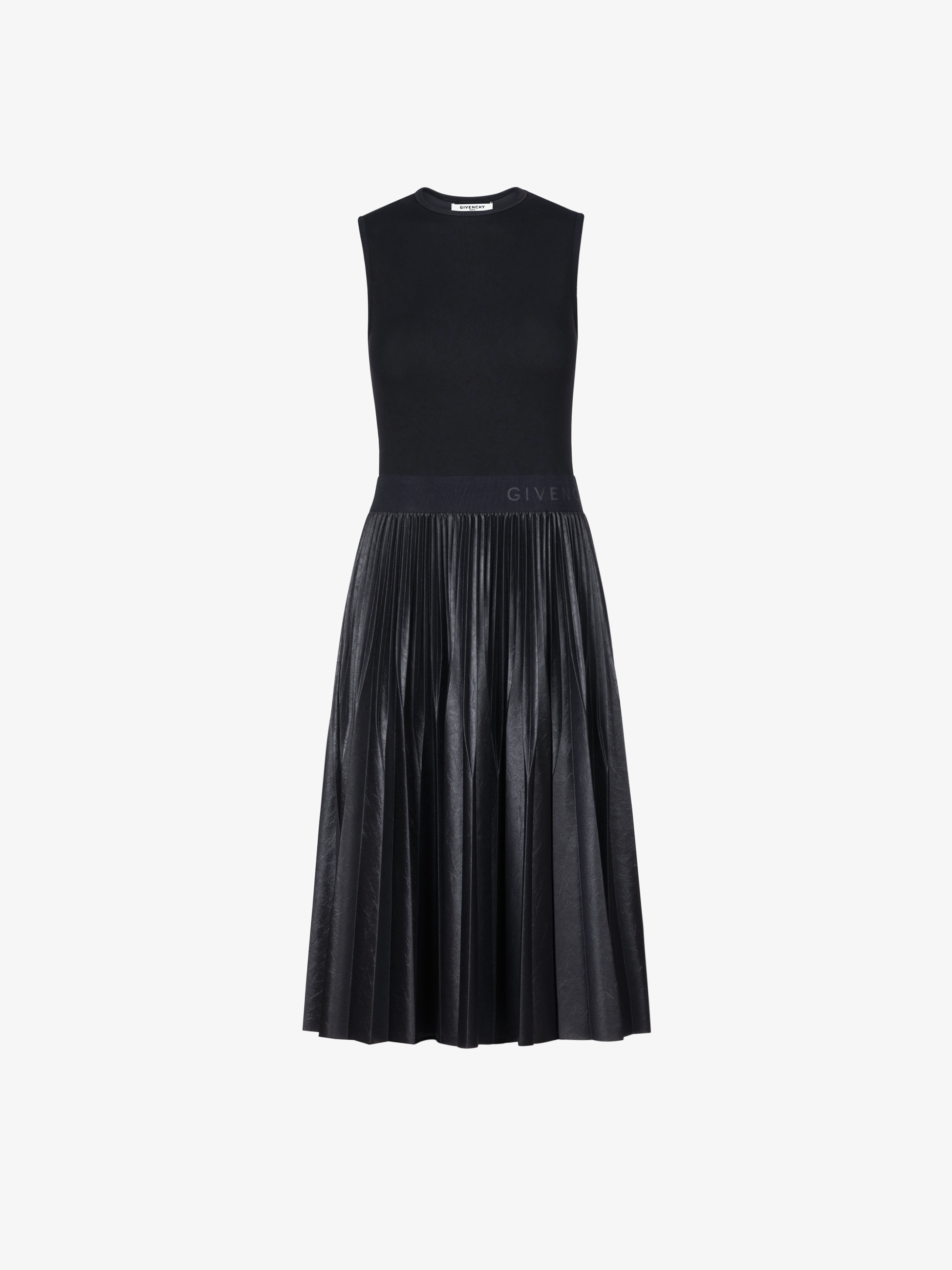 GIVENCHY mid-length pleated dress