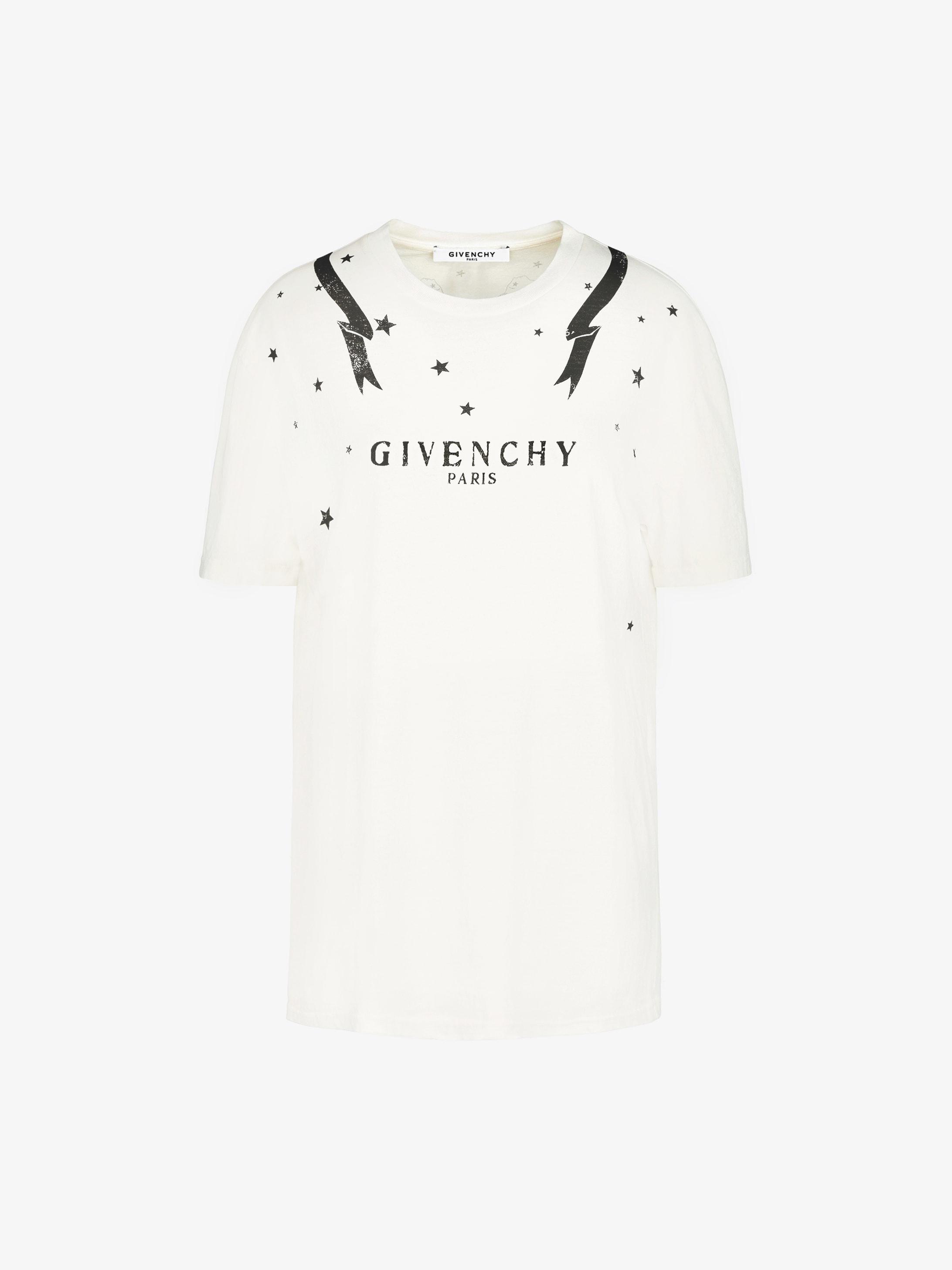 8ac4e71d8 Gemini printed oversized t-shirt | GIVENCHY Paris