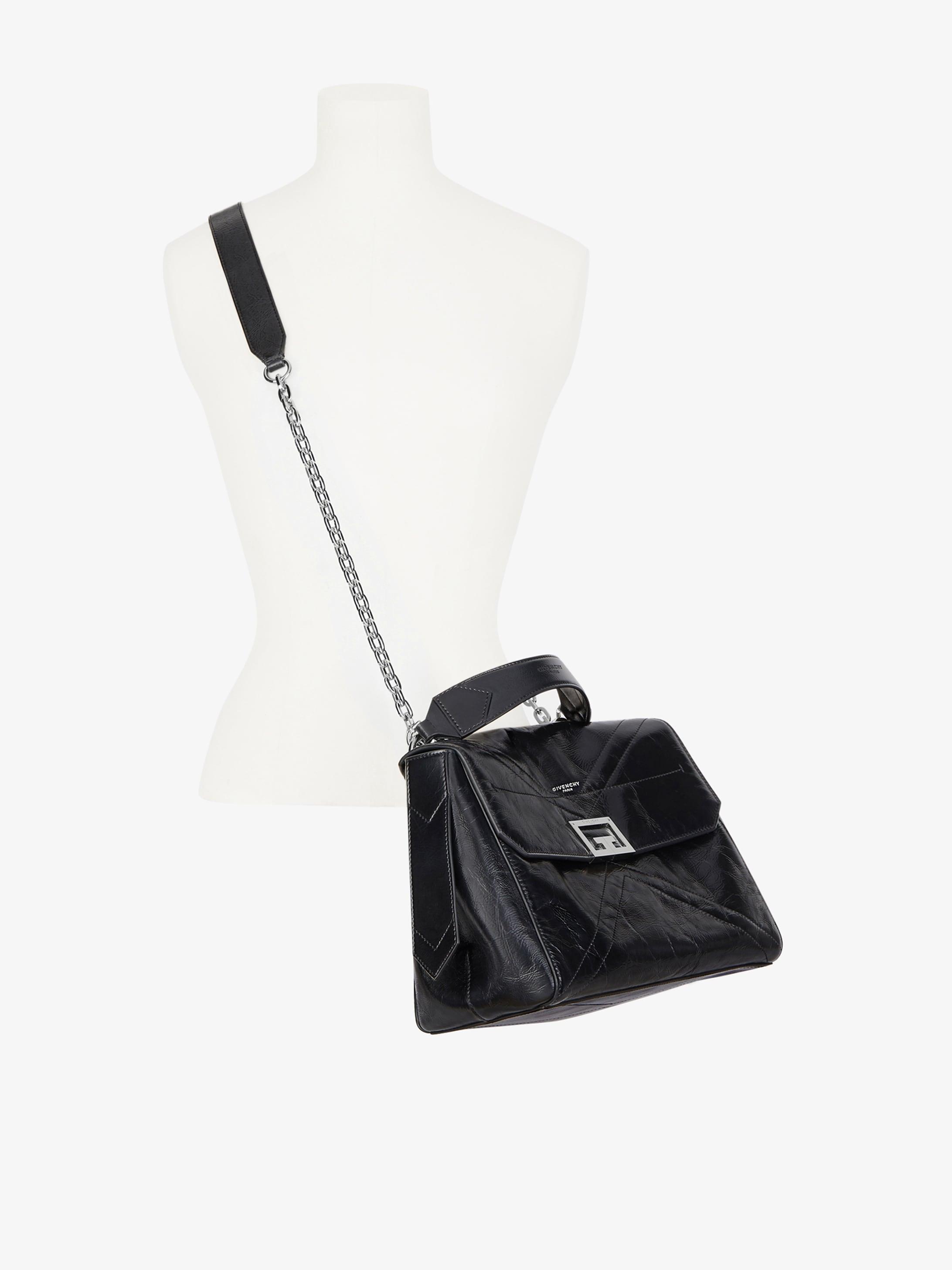 Medium ID bag in aged leather