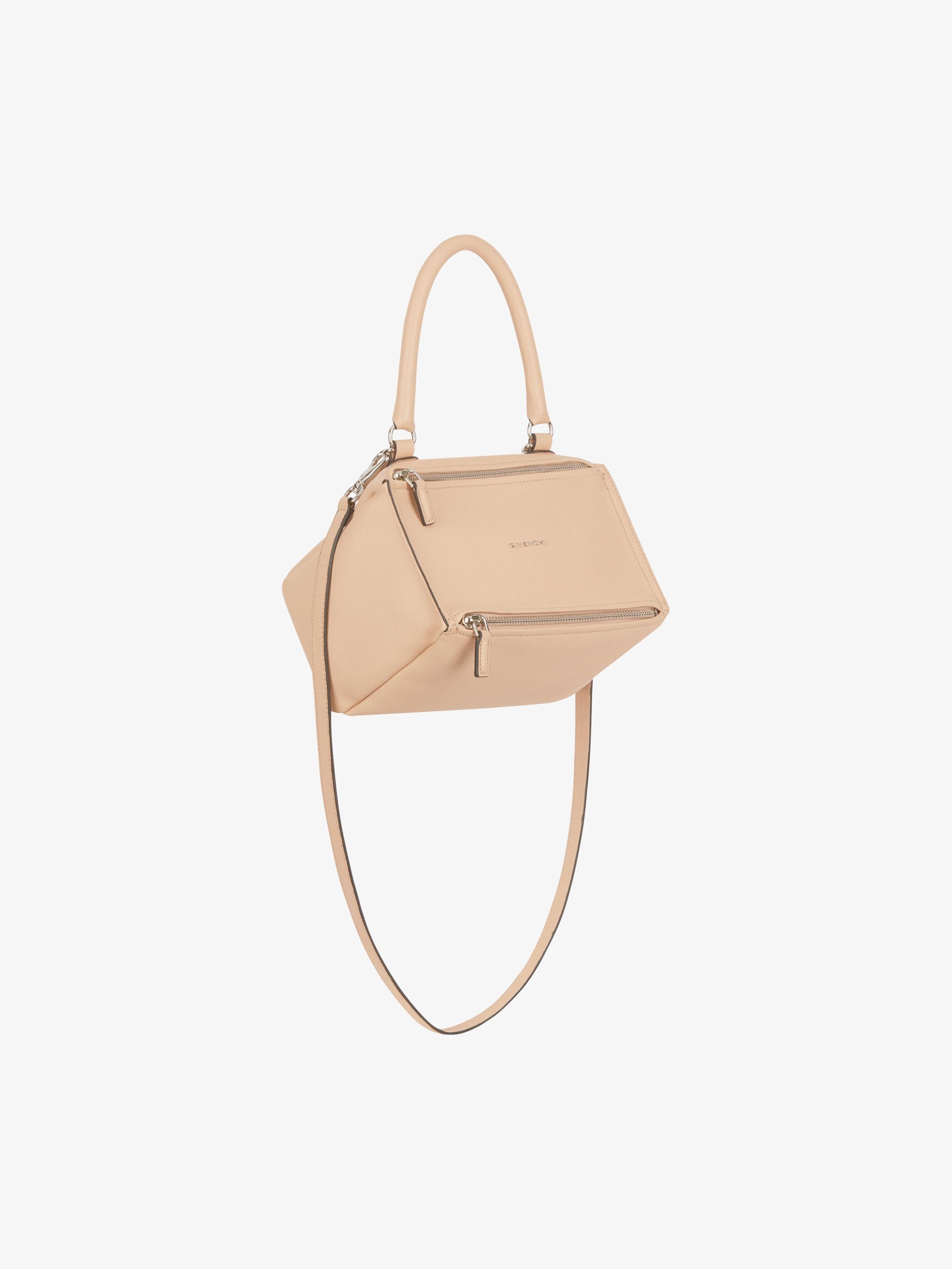 Mini Pandora bag in grained leather