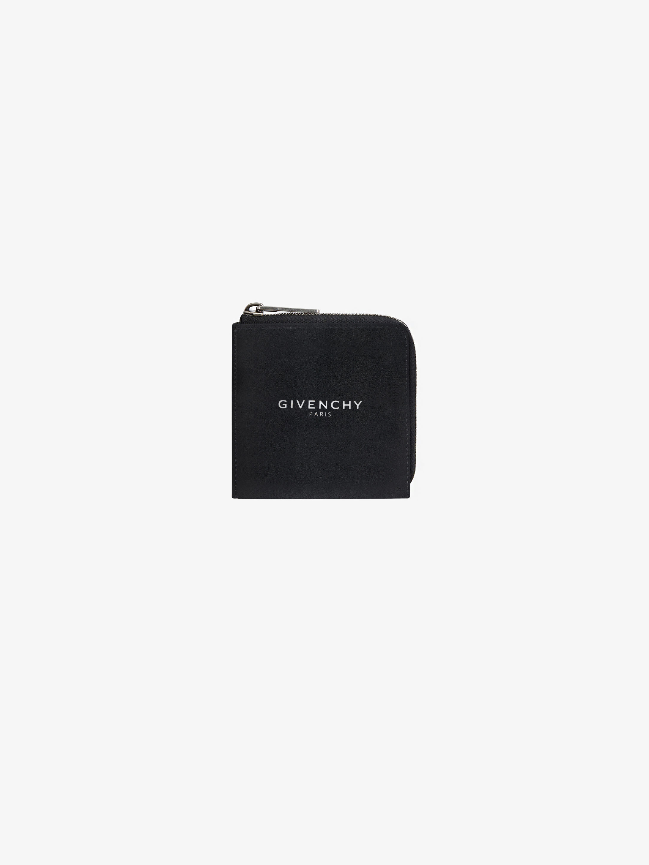 GIVENCHY PARIS square zipped wallet