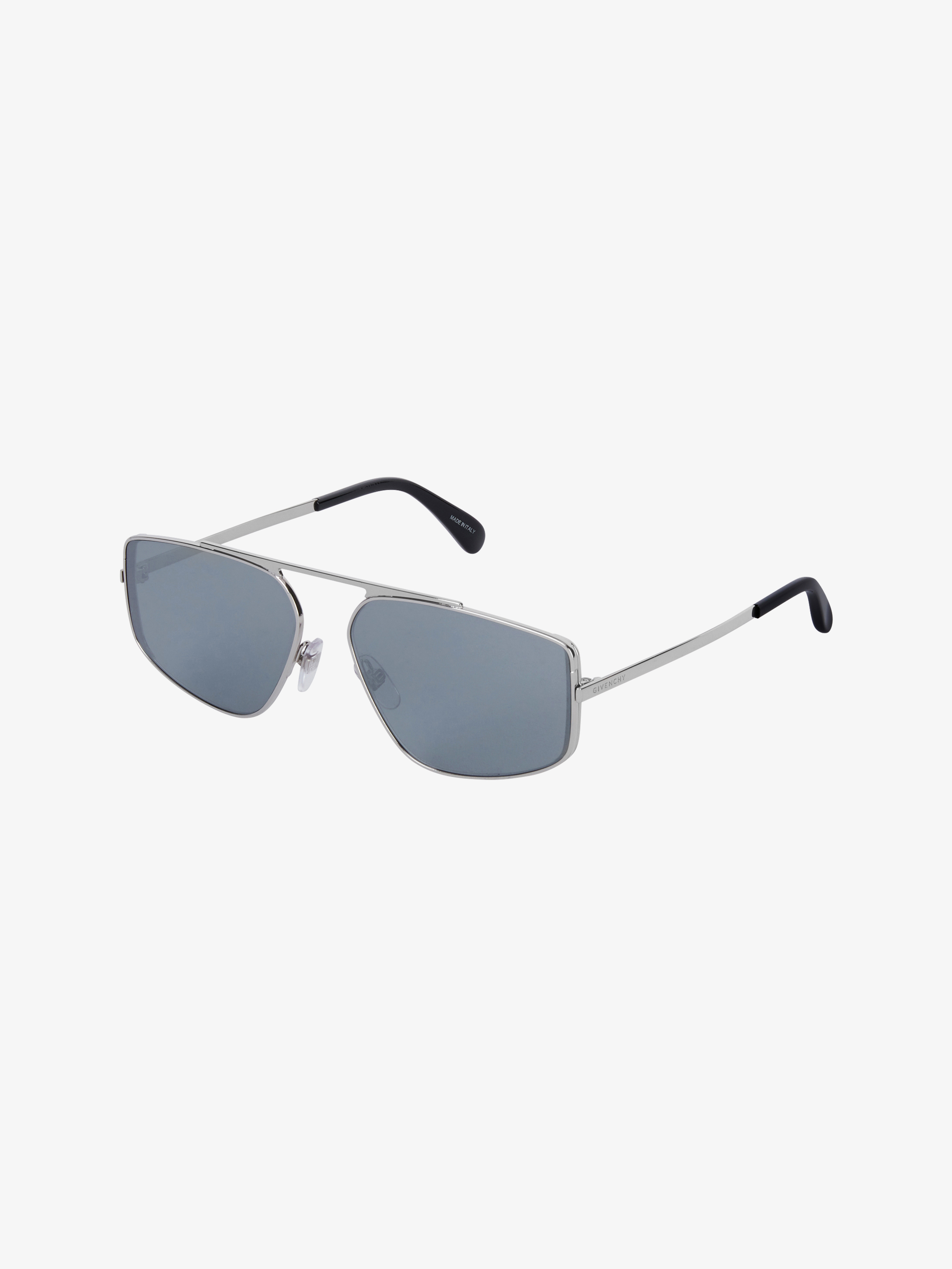 Unisex sunglasses in acetate and metal