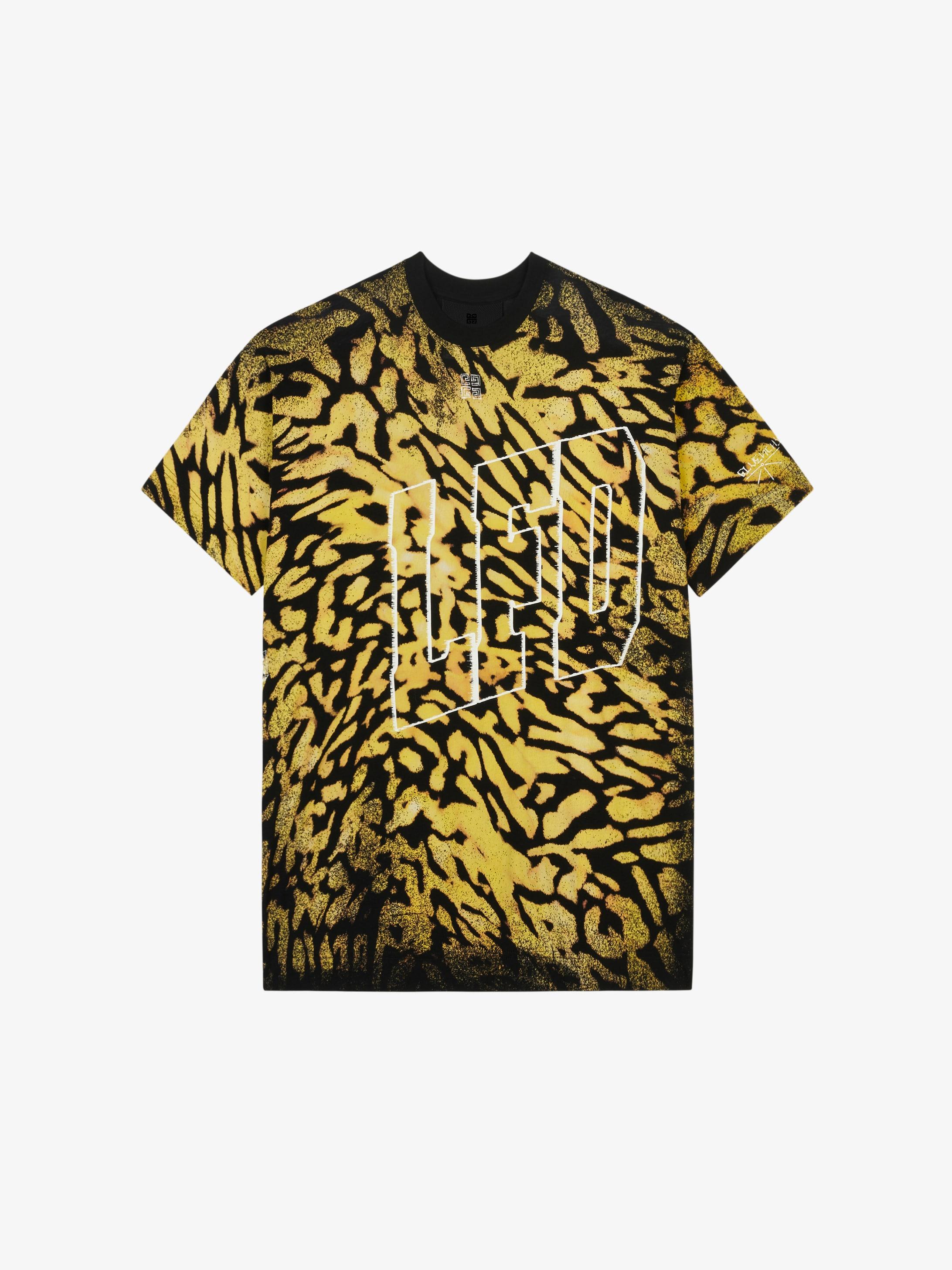 超大印花T恤