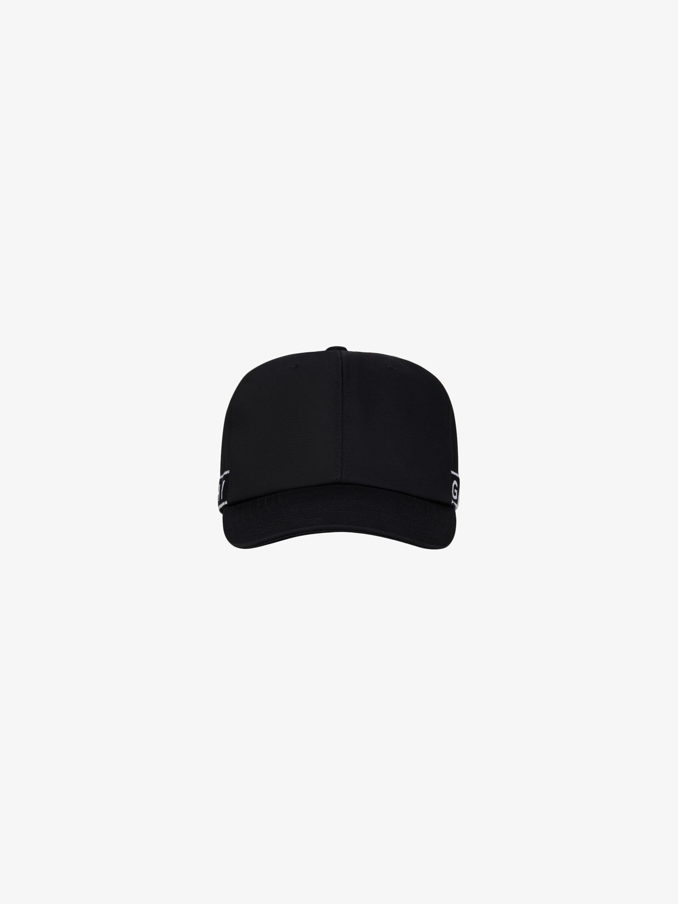 GIVENCHY 4G webbing cap in canvas