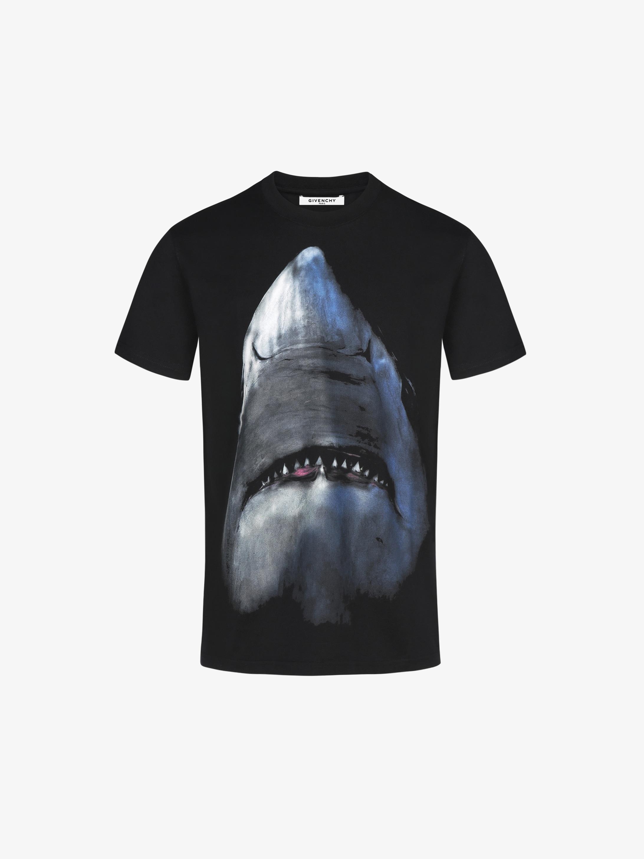 Givenchy Shark Printed T Shirt Givenchy Paris