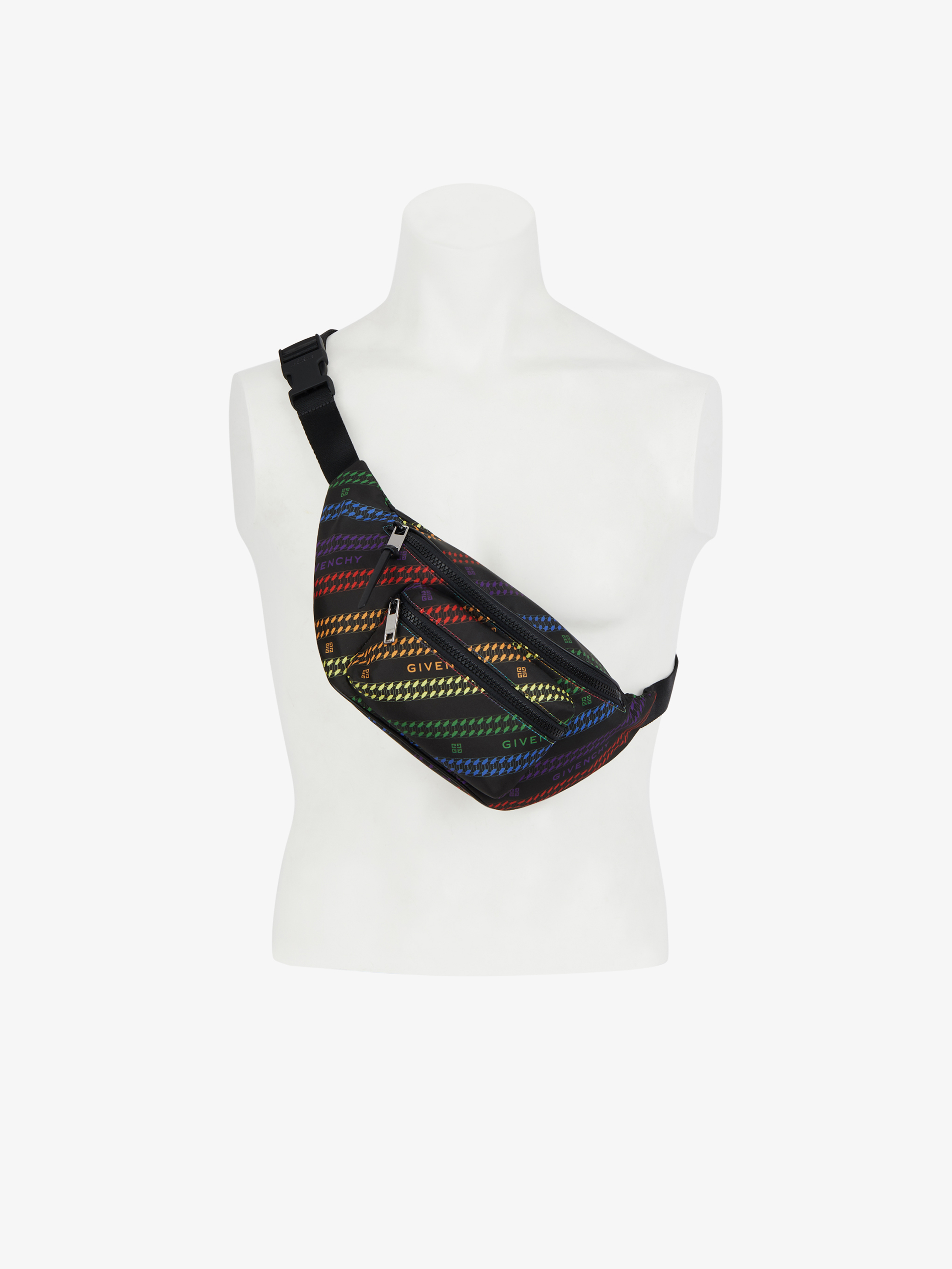 GIVENCHY multicolored bum bag in nylon