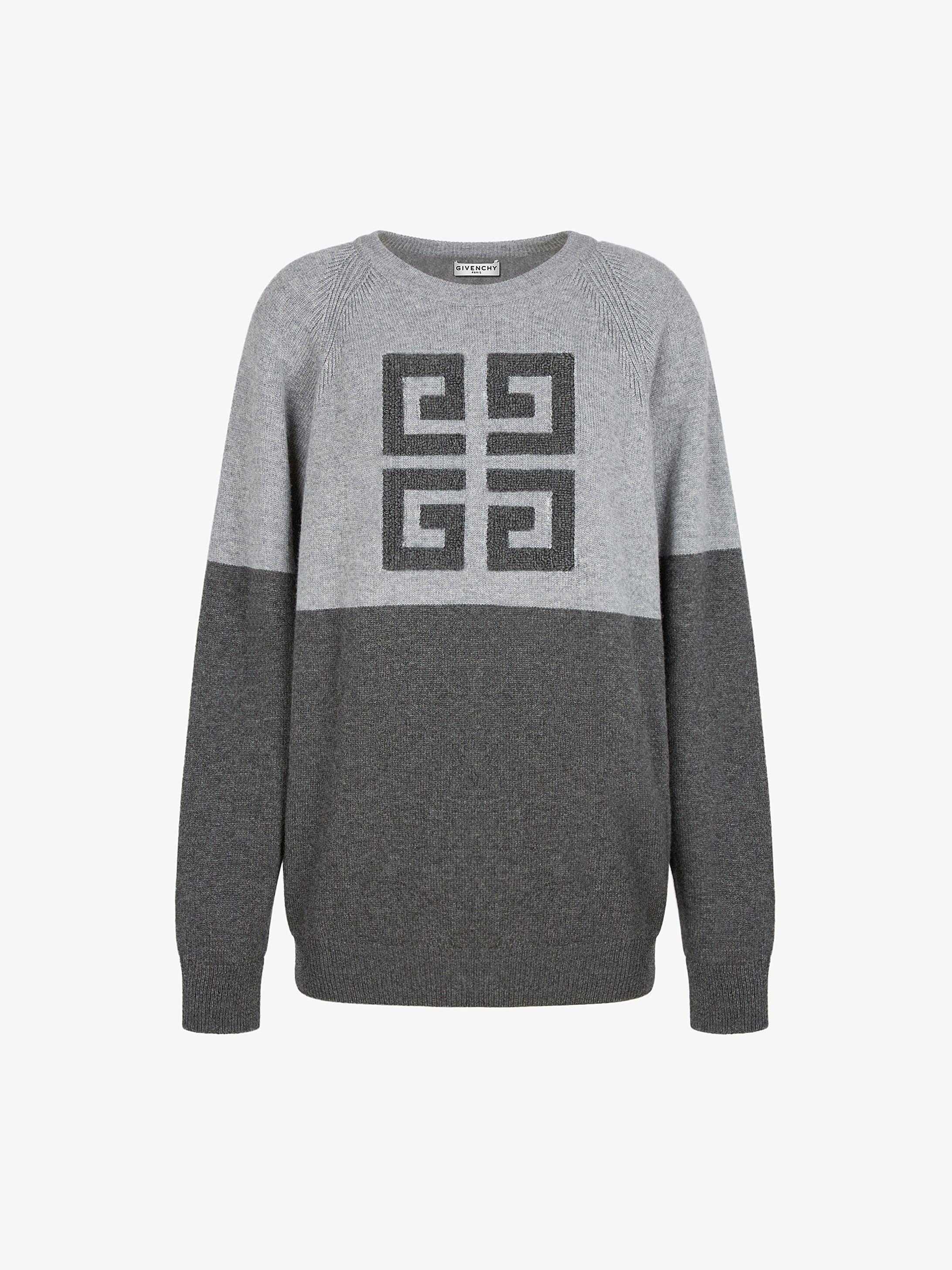 4G LOGO双色针织衫