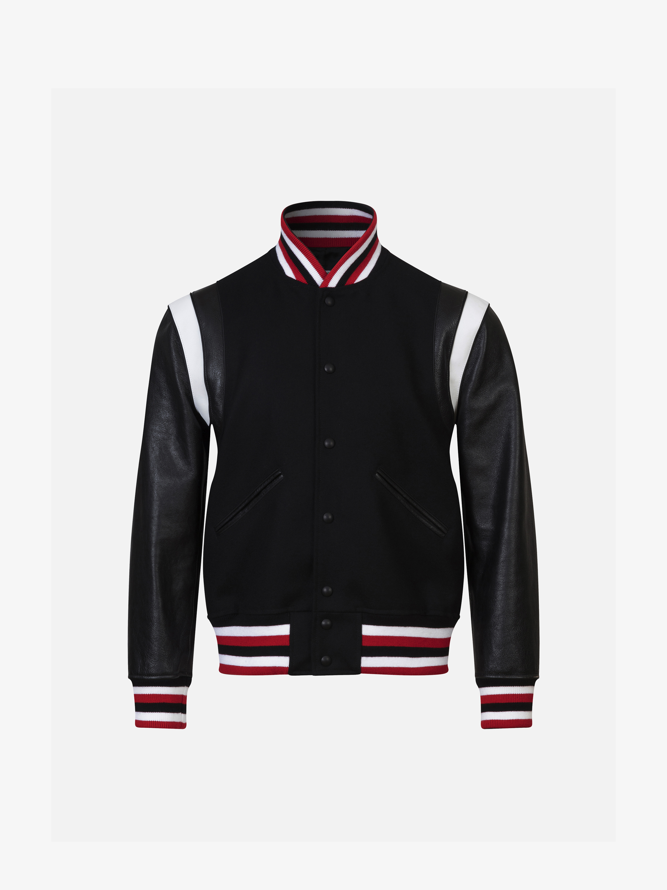 GIVENCHY PARIS logo bomber jacket in wool