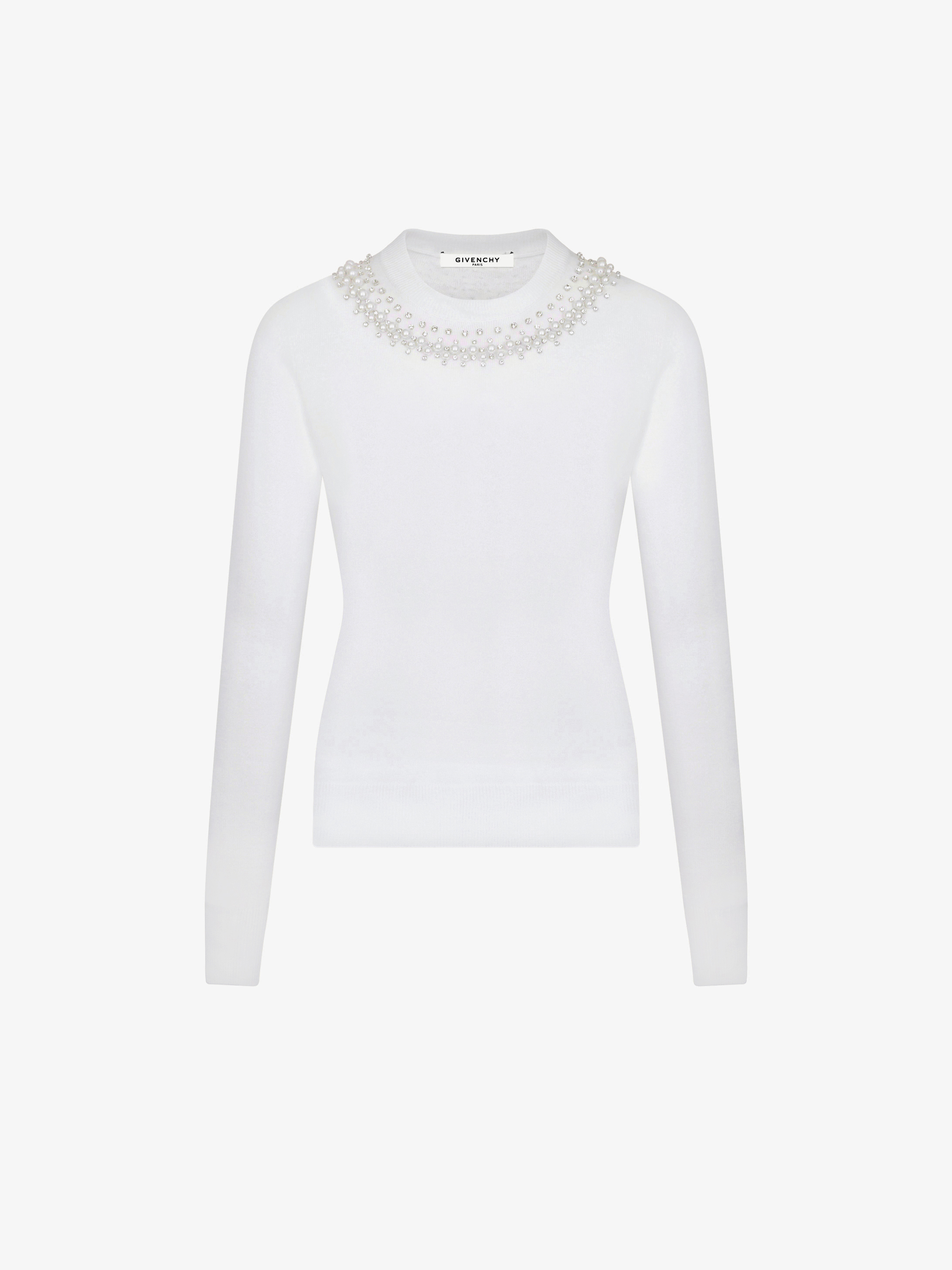 Jewels embroidered jumper