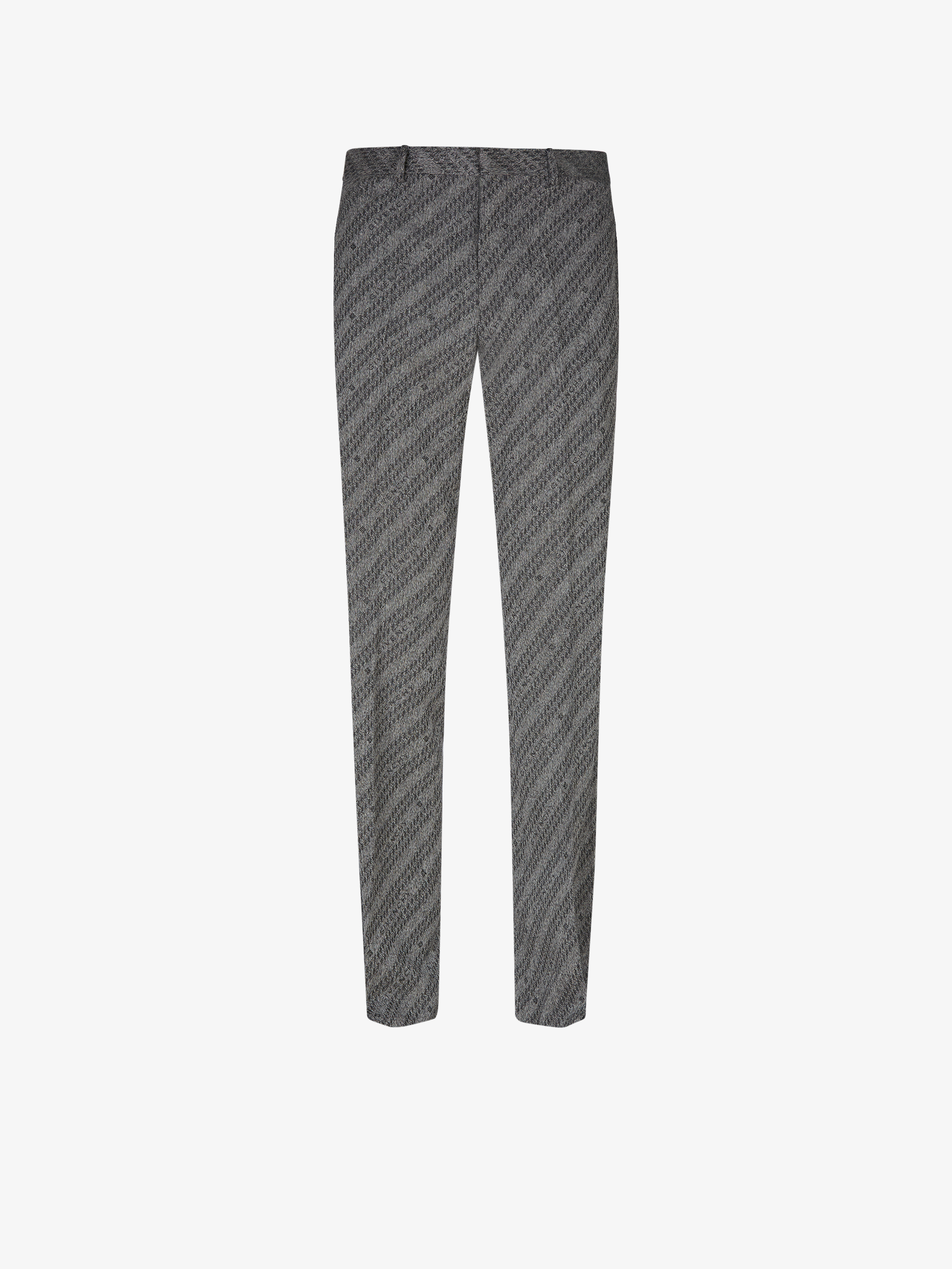GIVENCHY chain pants in jacquard