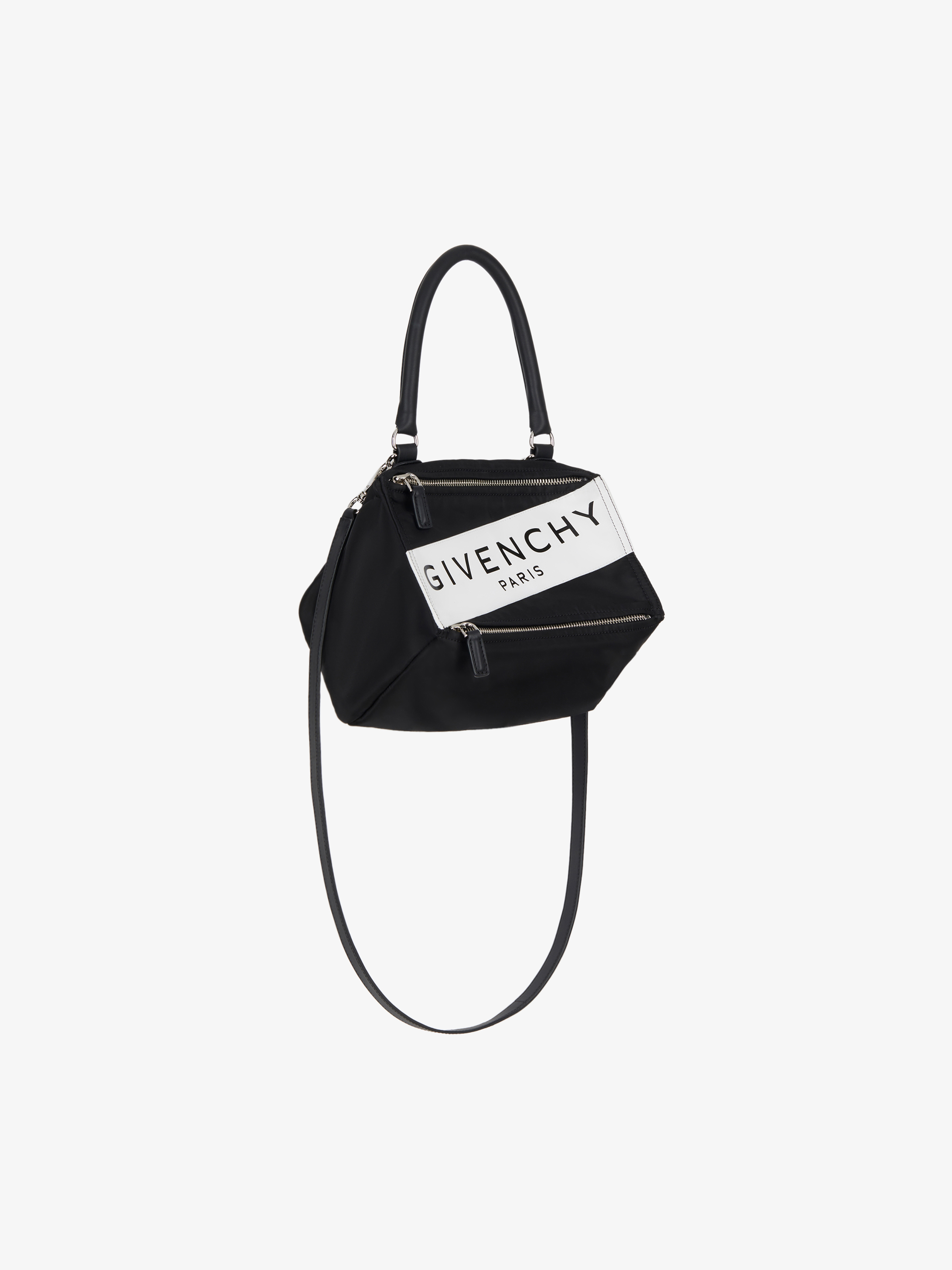 Givenchy Paris Band Small Pandora Bag In Nylon