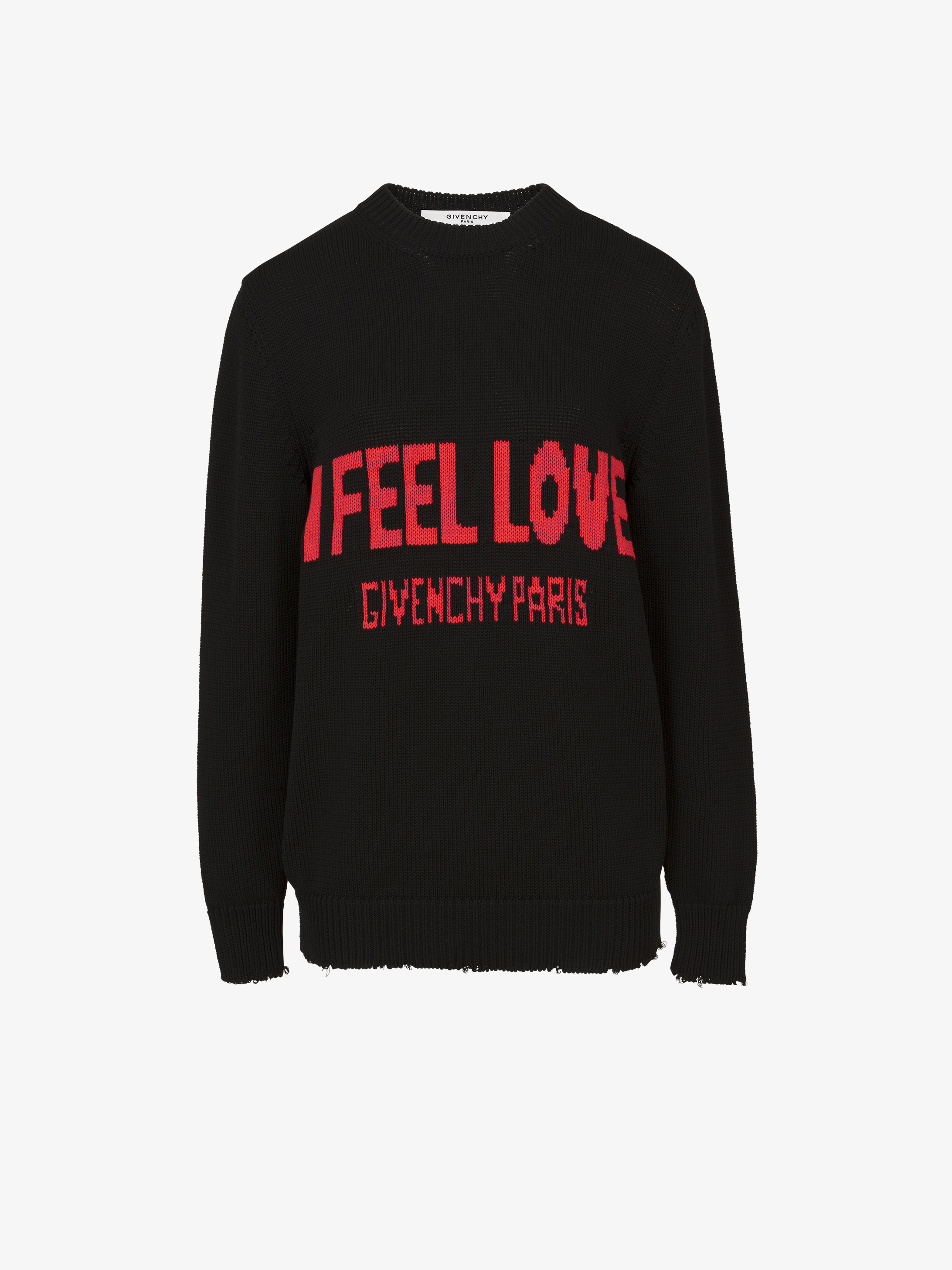 Pull en laine I FELL LOVE
