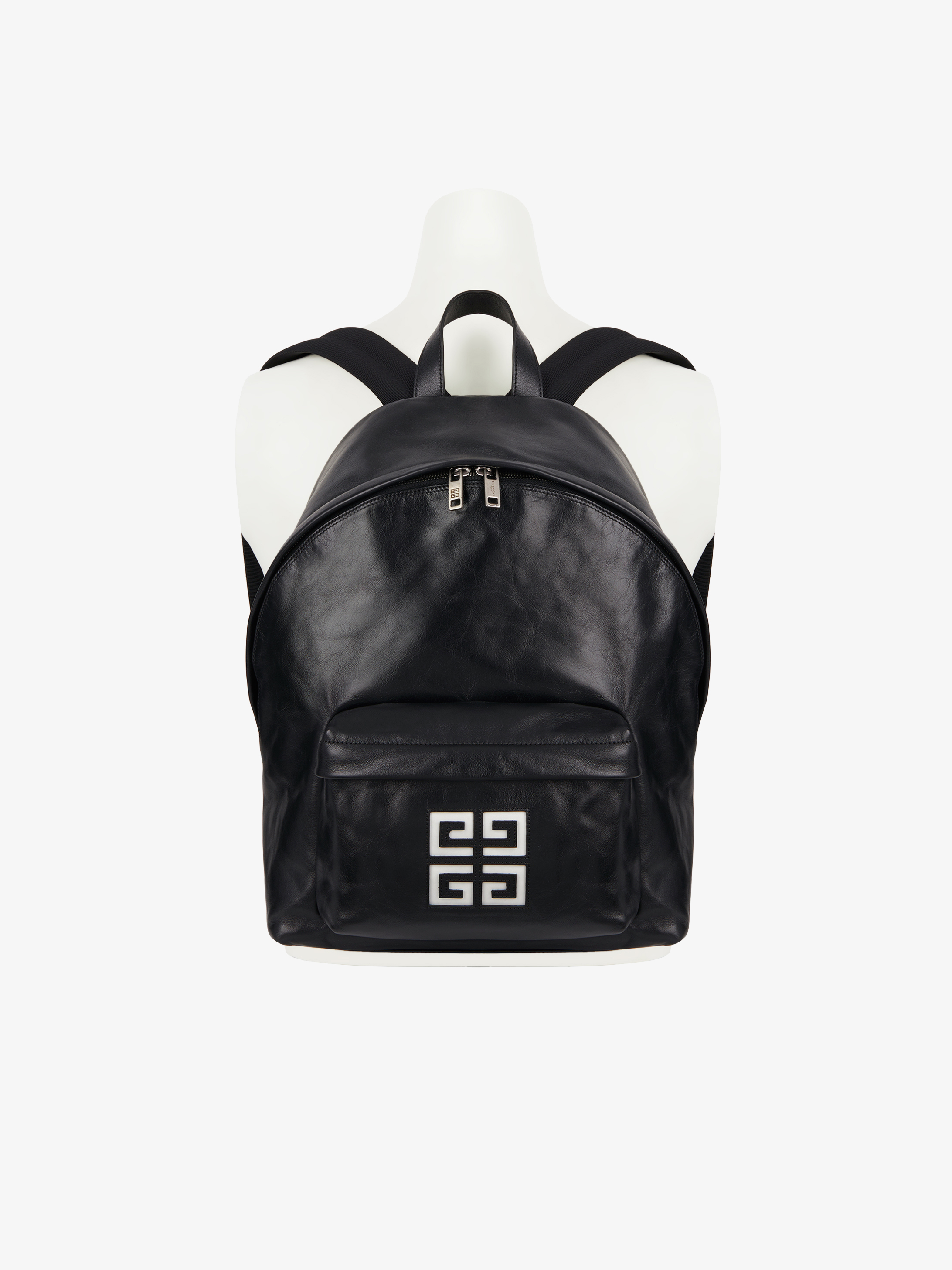 4G backpack in leather