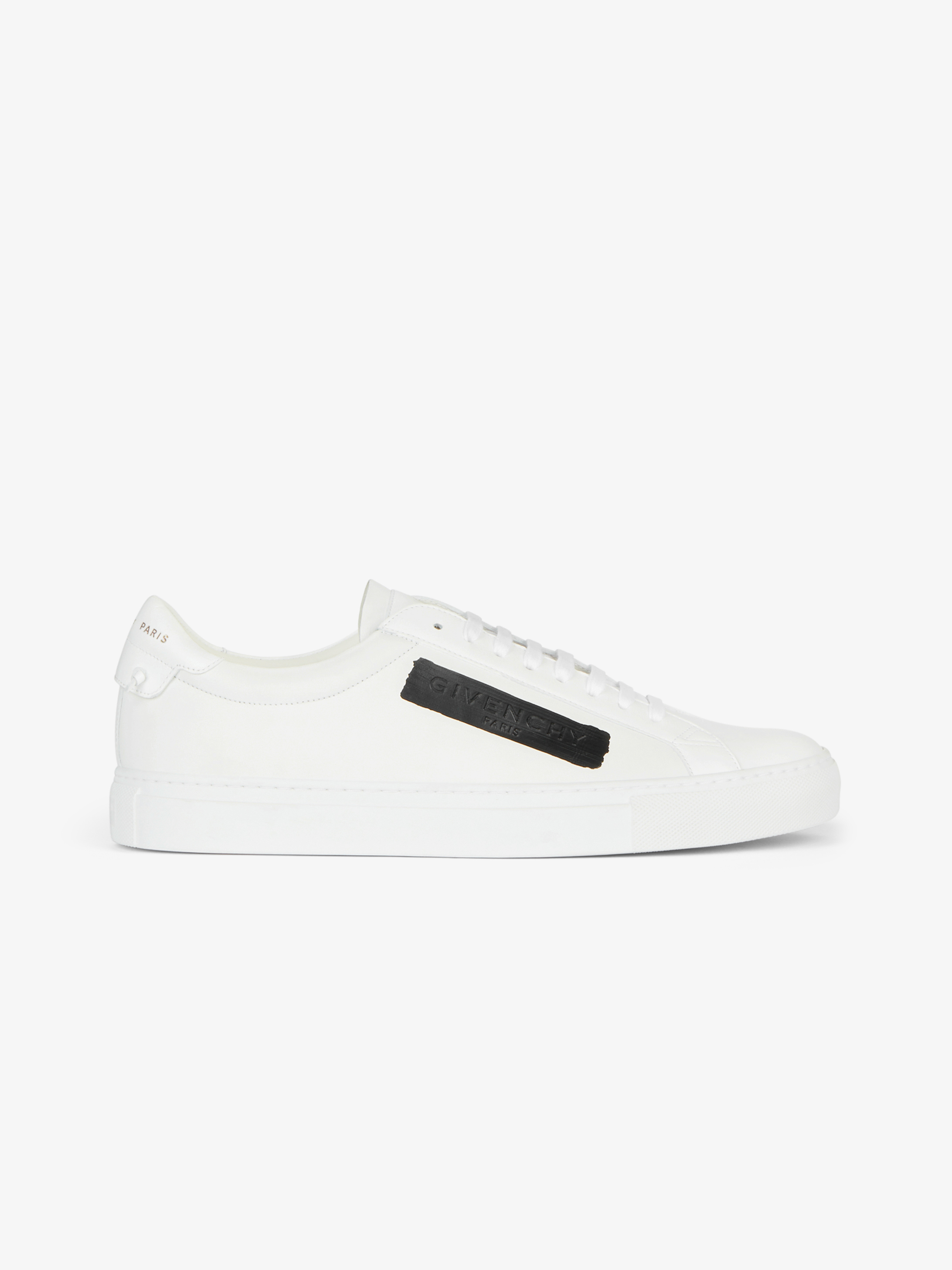 GIVENCHY sneakers in leather with latex band