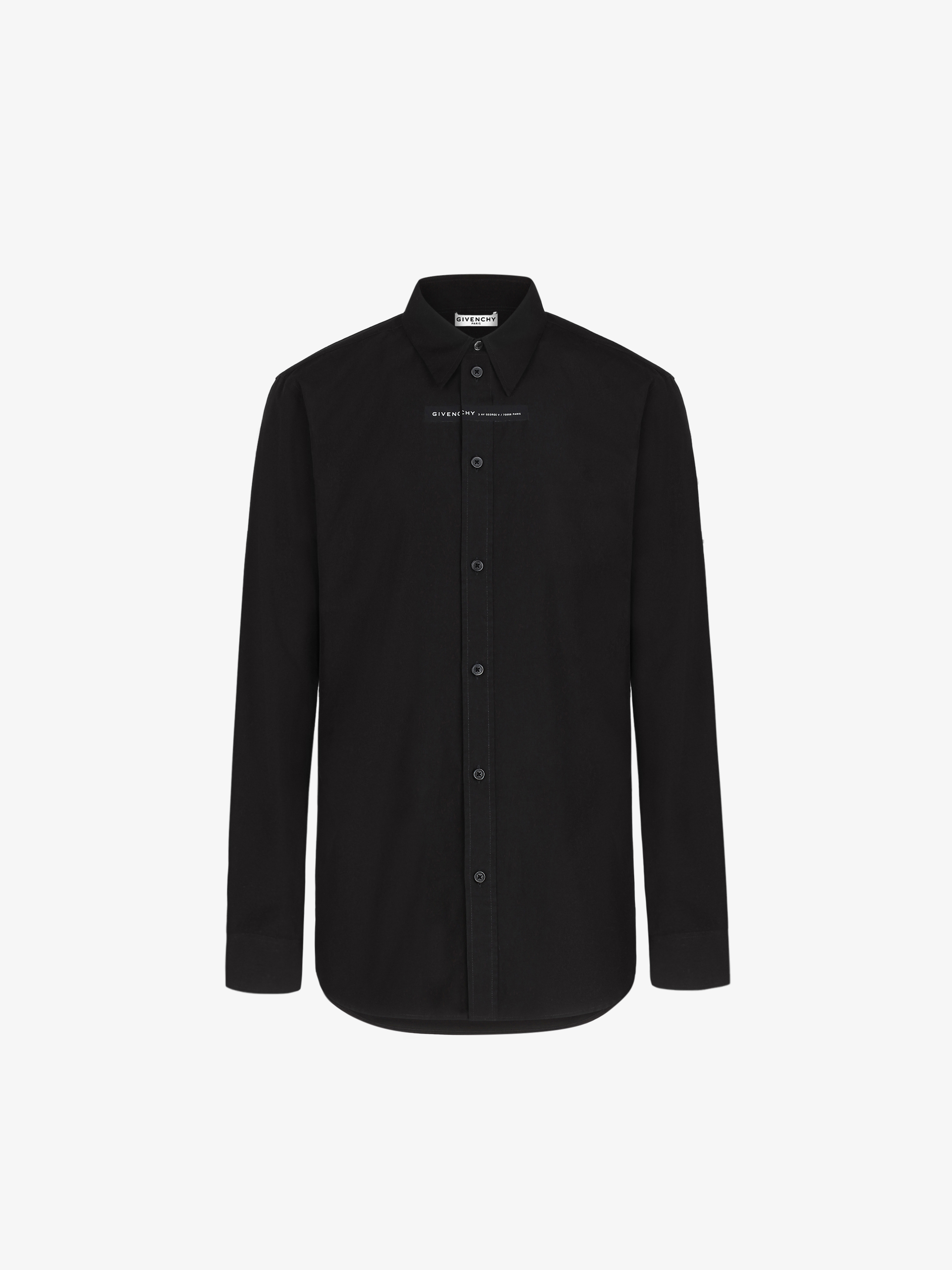 GIVENCHY ADDRESS shirt in coton