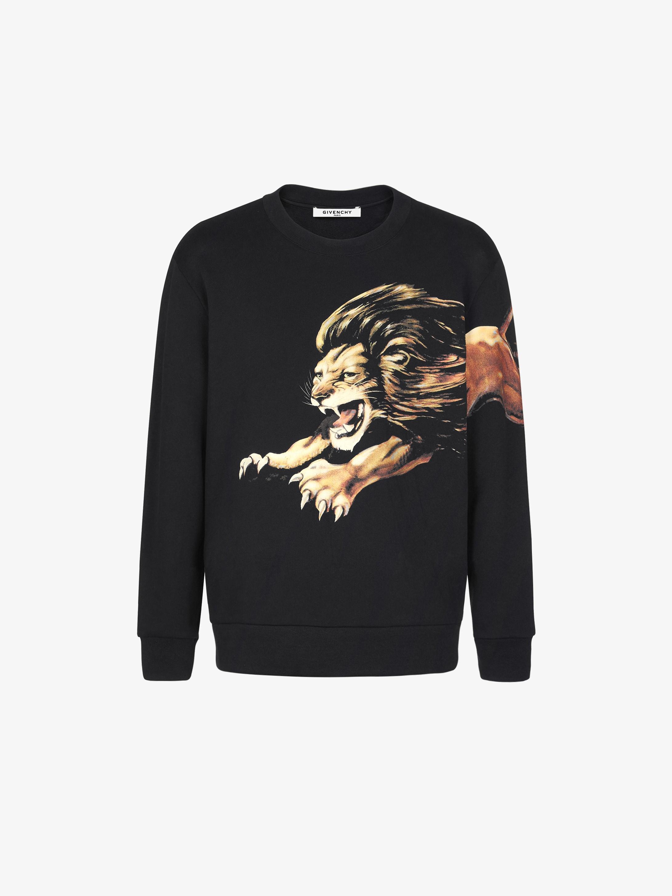 Leo printed sweatshirt