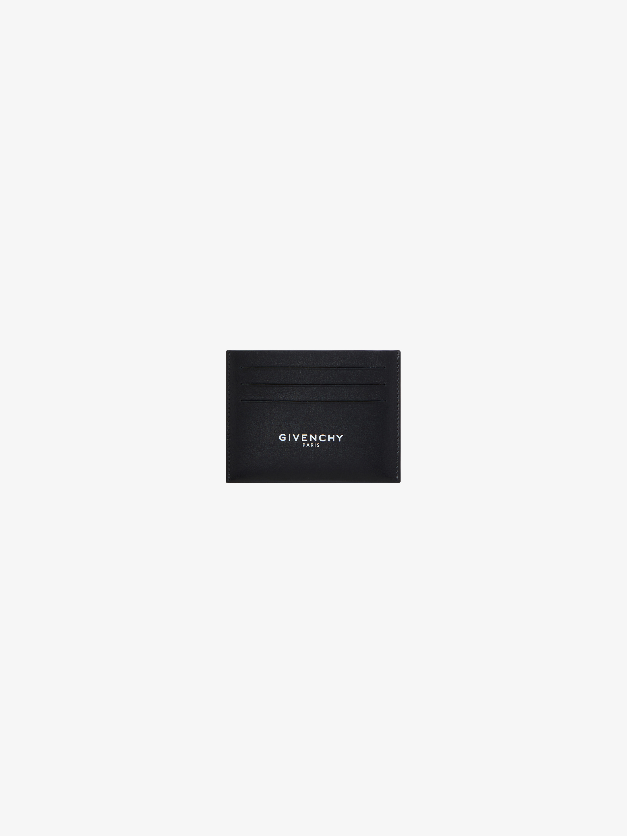 GIVENCHY PARIS card holder in leather