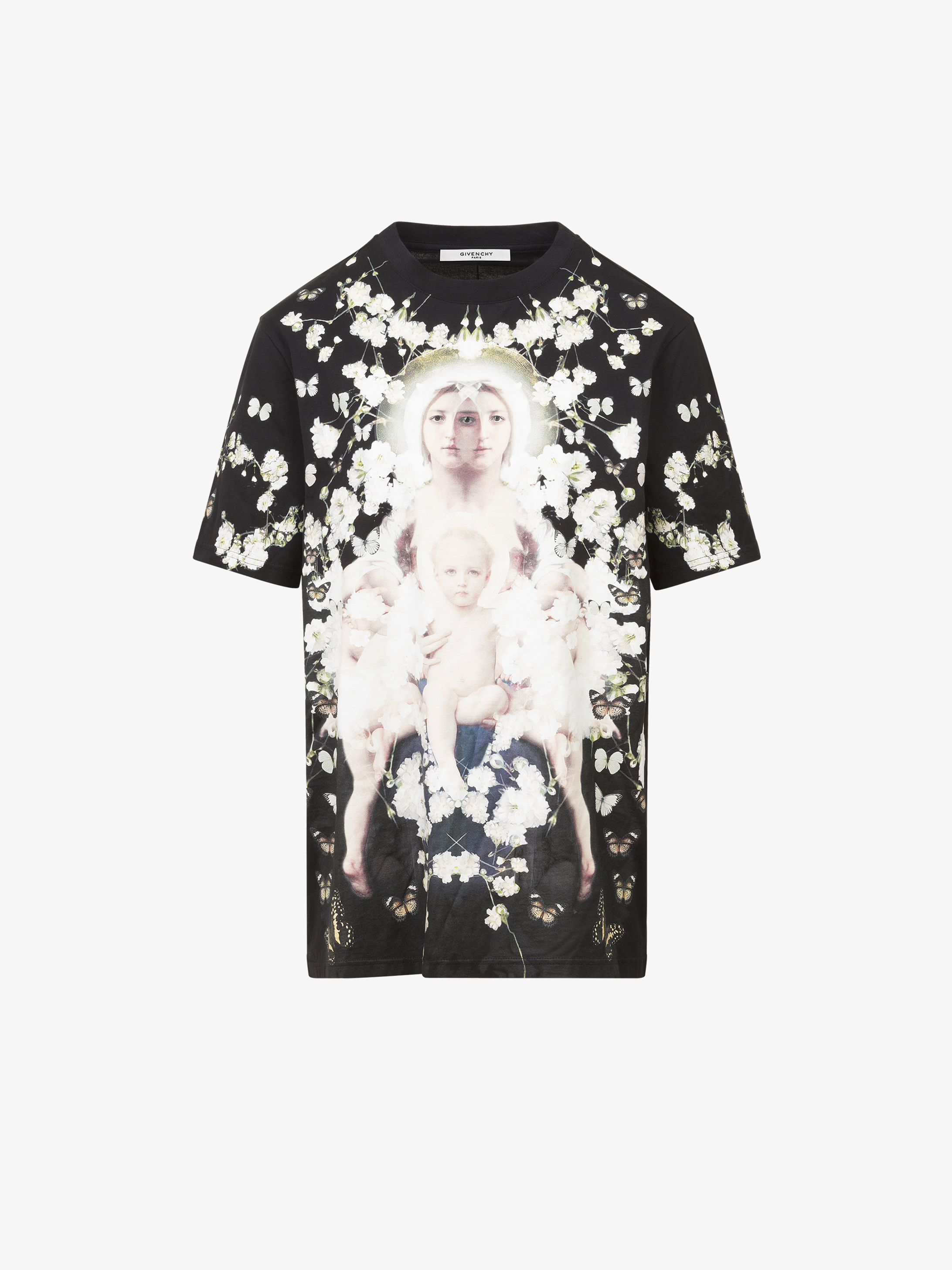 Baby's breath Madonna printed T-shirt