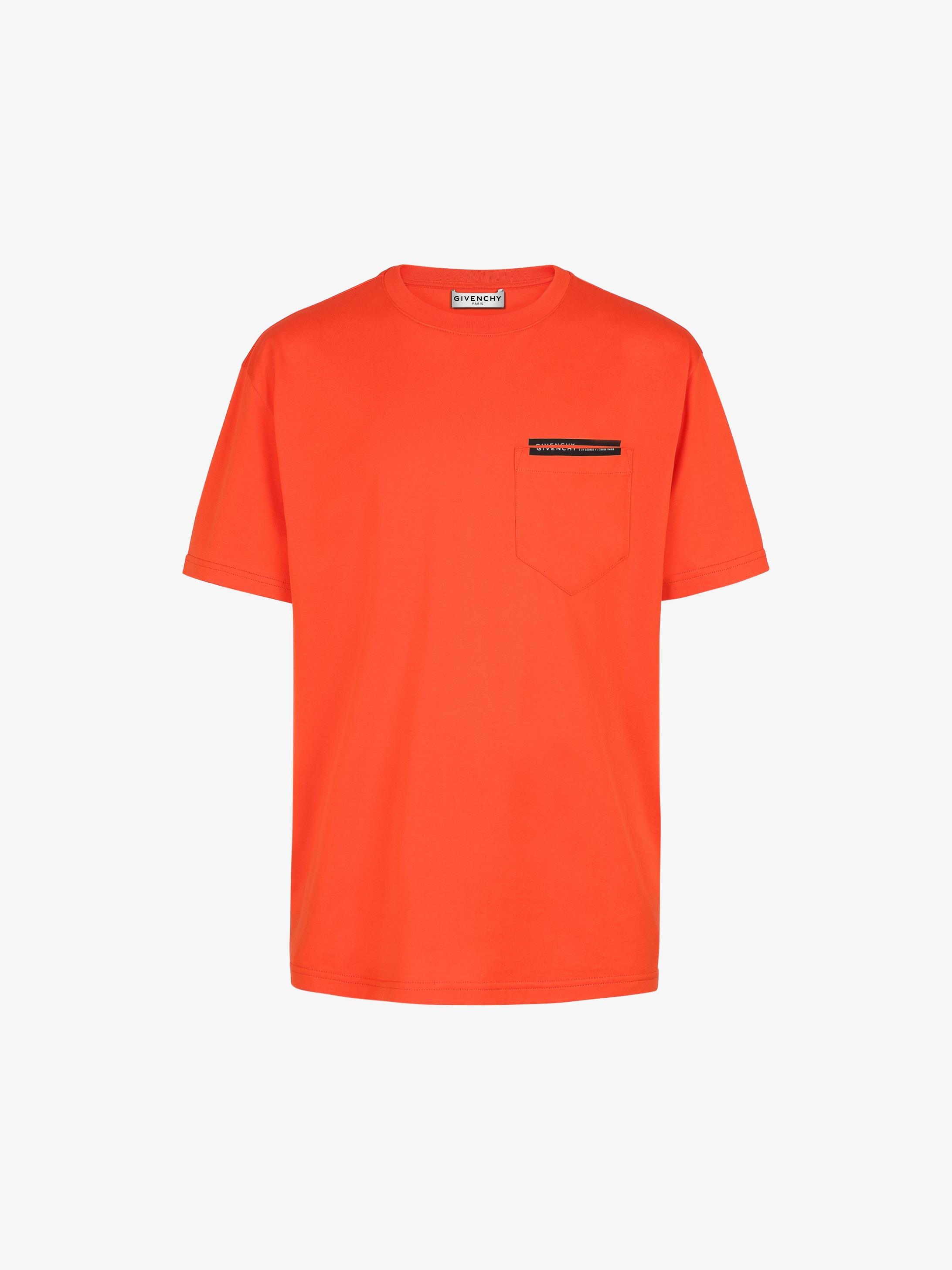 T-shirt à bande Adresse GIVENCHY