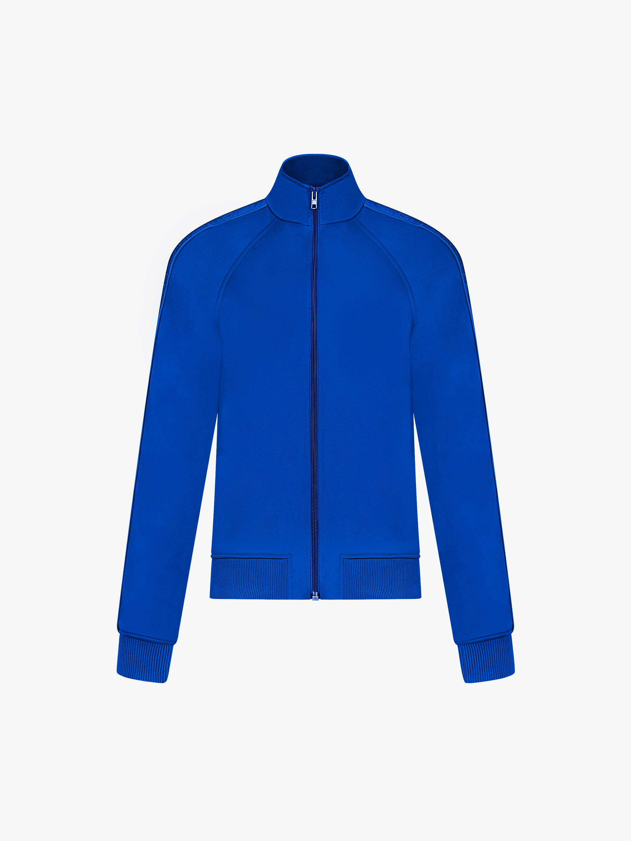 GIVENCHY webbing zipped jacket