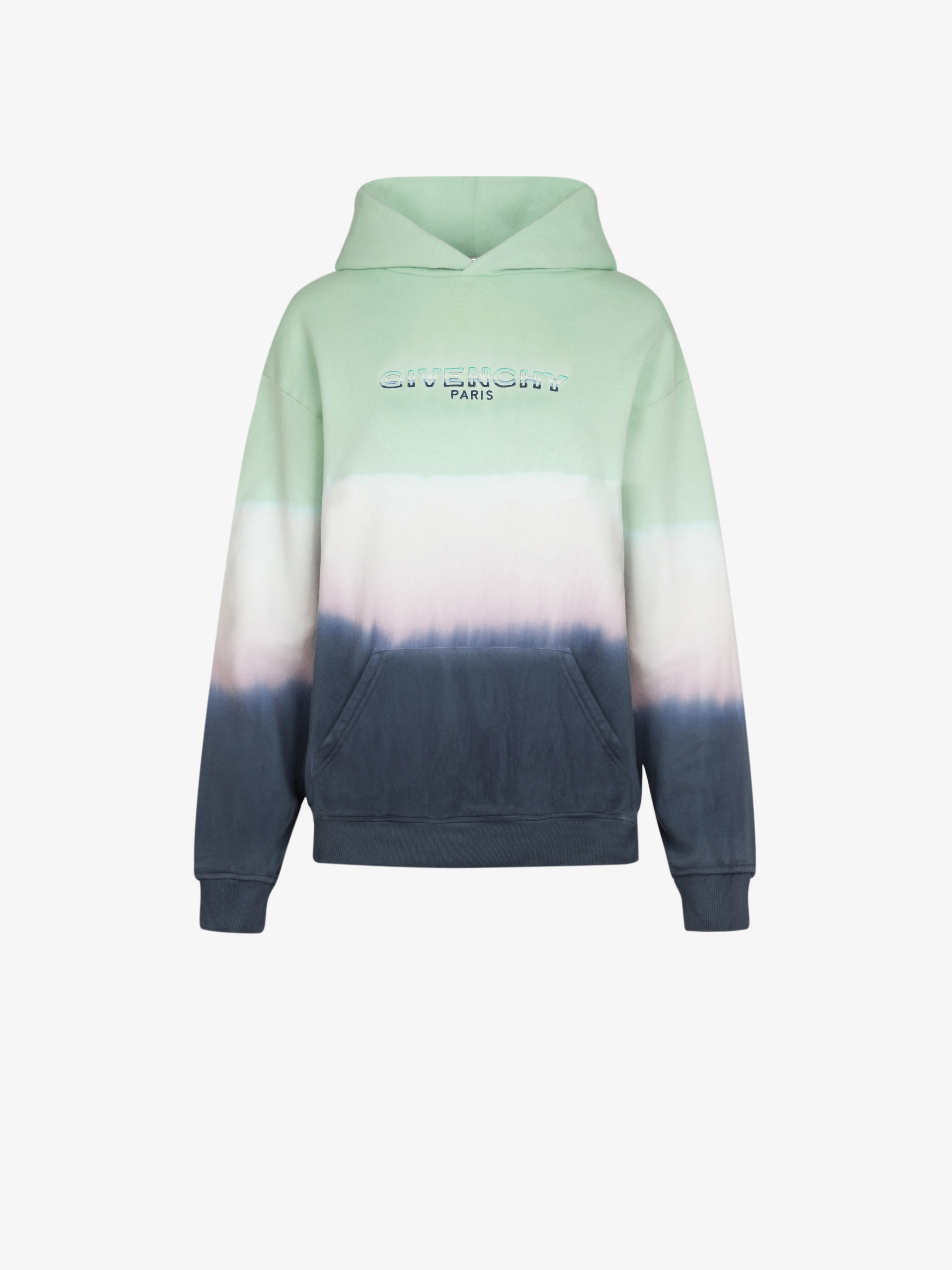 GIVENCHY faded effect hoodie
