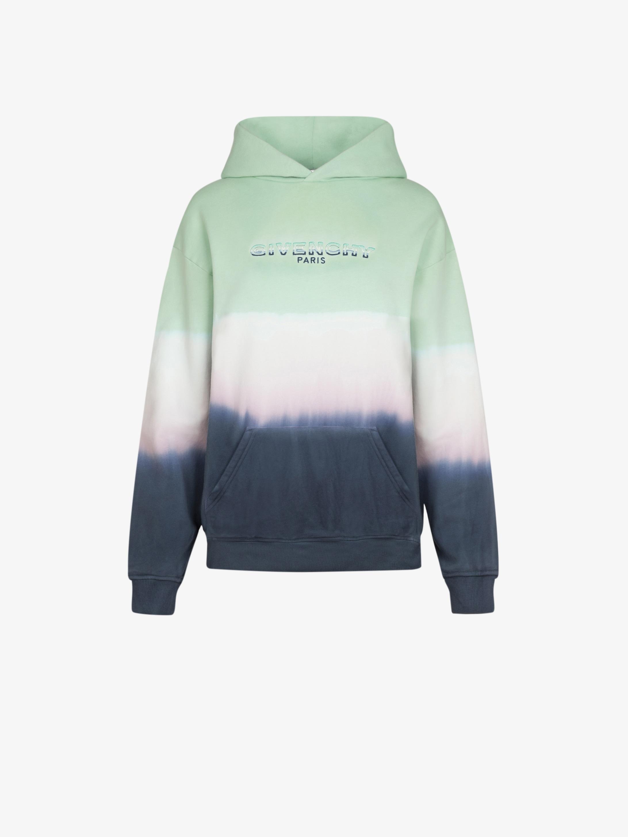 Sweatshirt à capuche GIVENCHY à effet dégradé