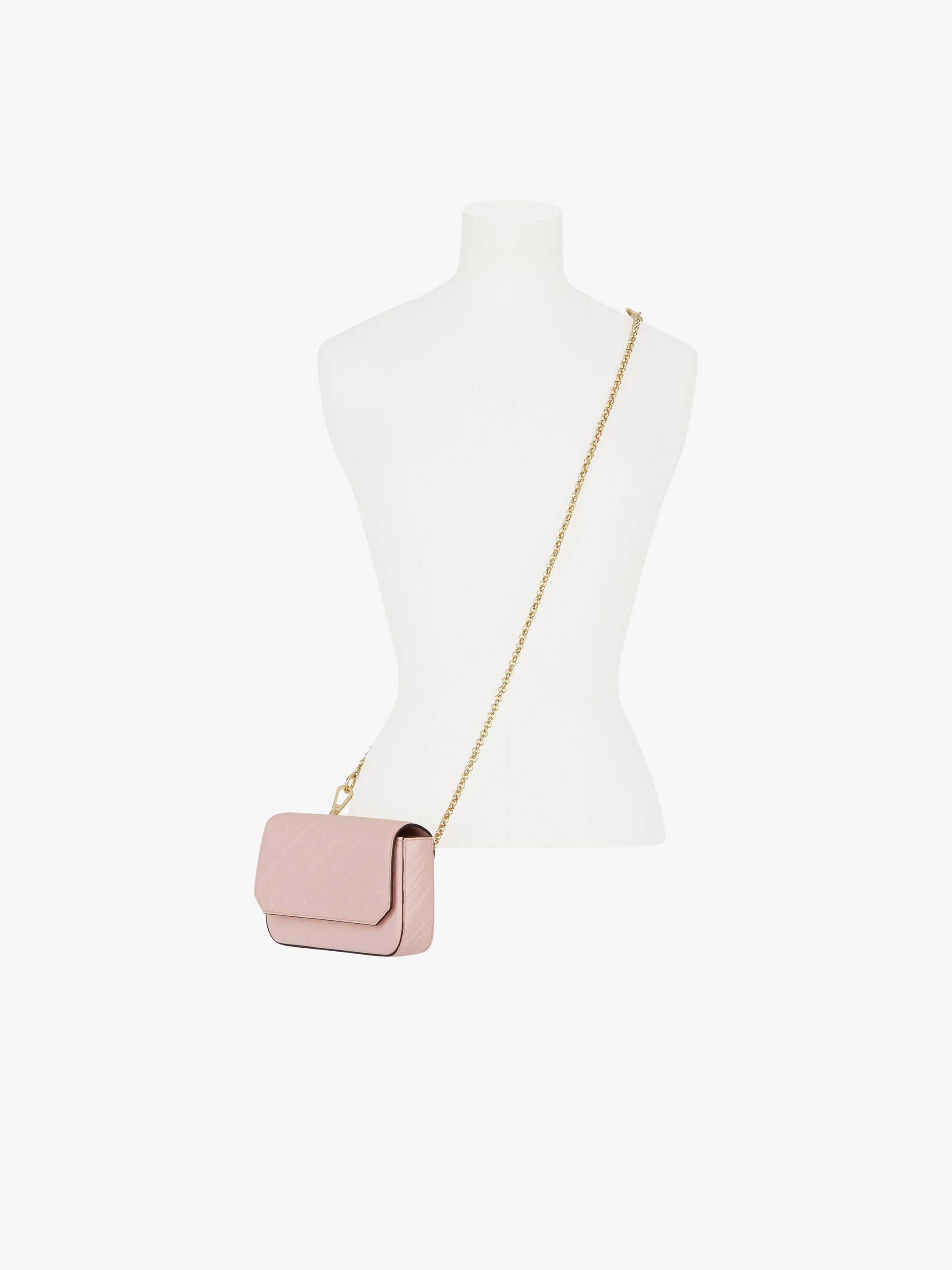 Bond pouch in GIVENCHY chain leather with chain strap
