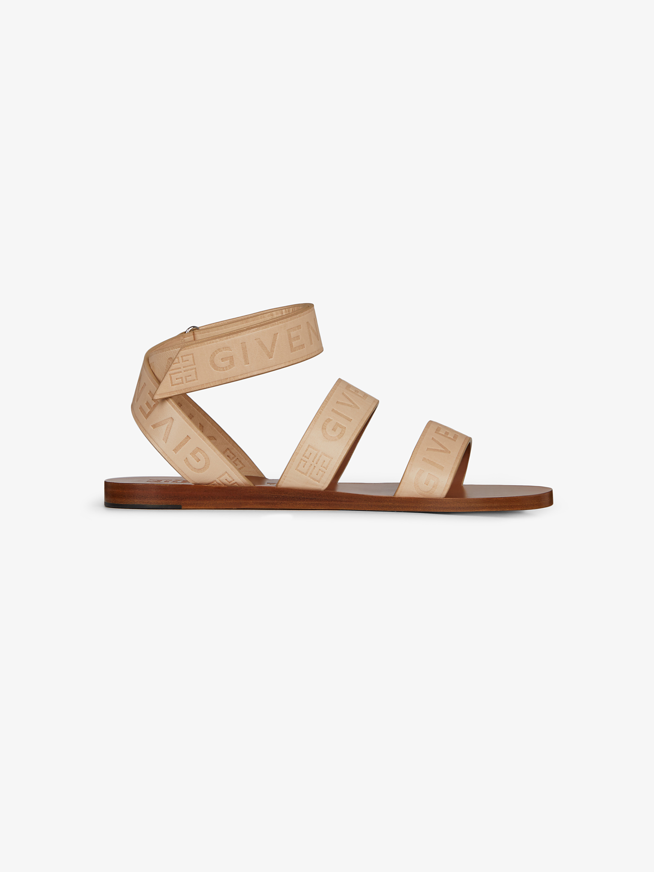 GIVENCHY 4G sandals in leather