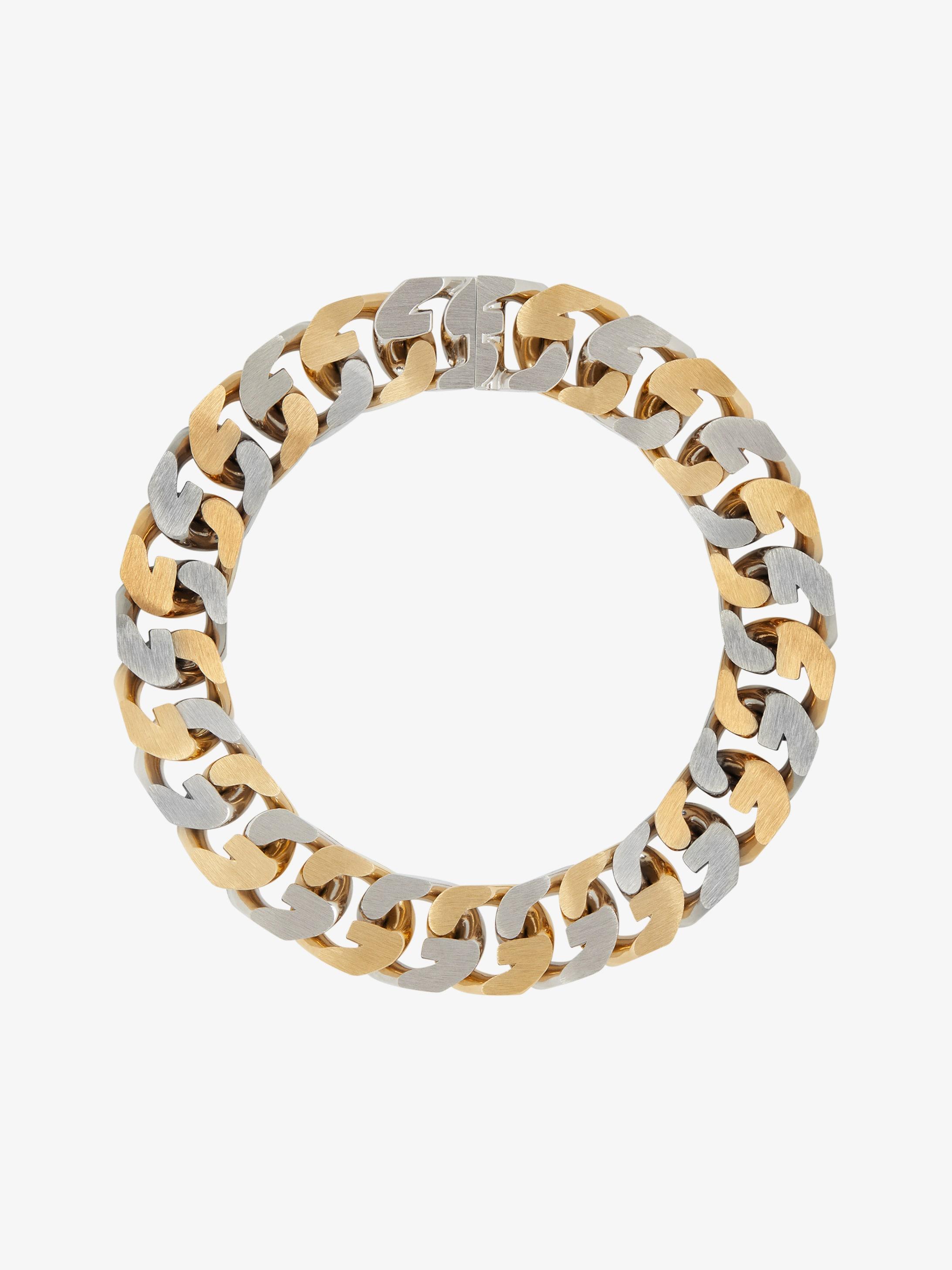Collana G Chain bicolore